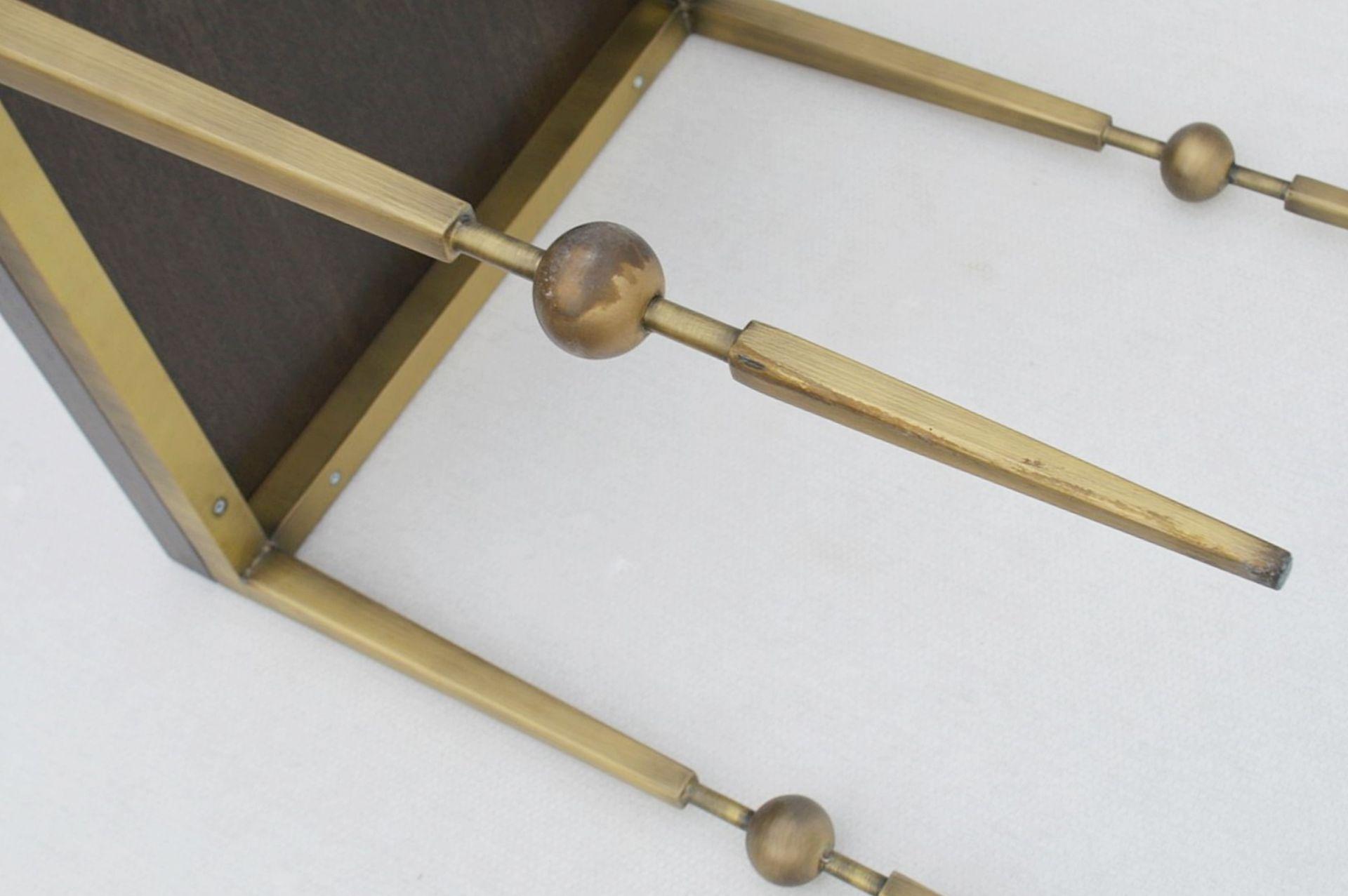 1 x JUSTIN VAN BREDA 'Sphere' Designer Occasional Table - Dimensions: H70 x W52 x D52cm - Ref: - Image 3 of 7
