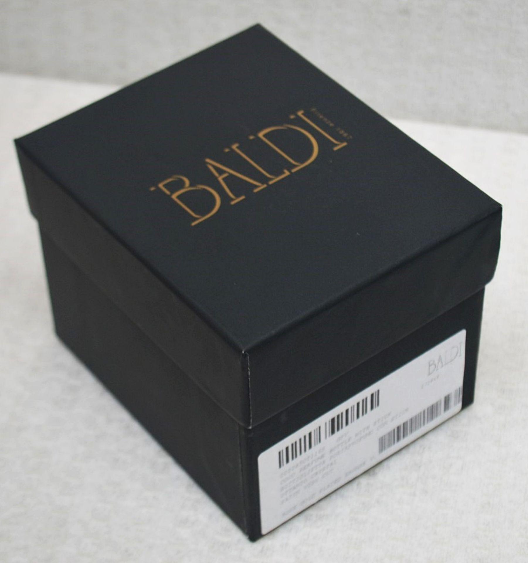 1 x BALDI 'Home Jewels' Italian Hand-crafted Artisan Ottanio Crystal Perfume Bottle & Stick - - Image 5 of 6