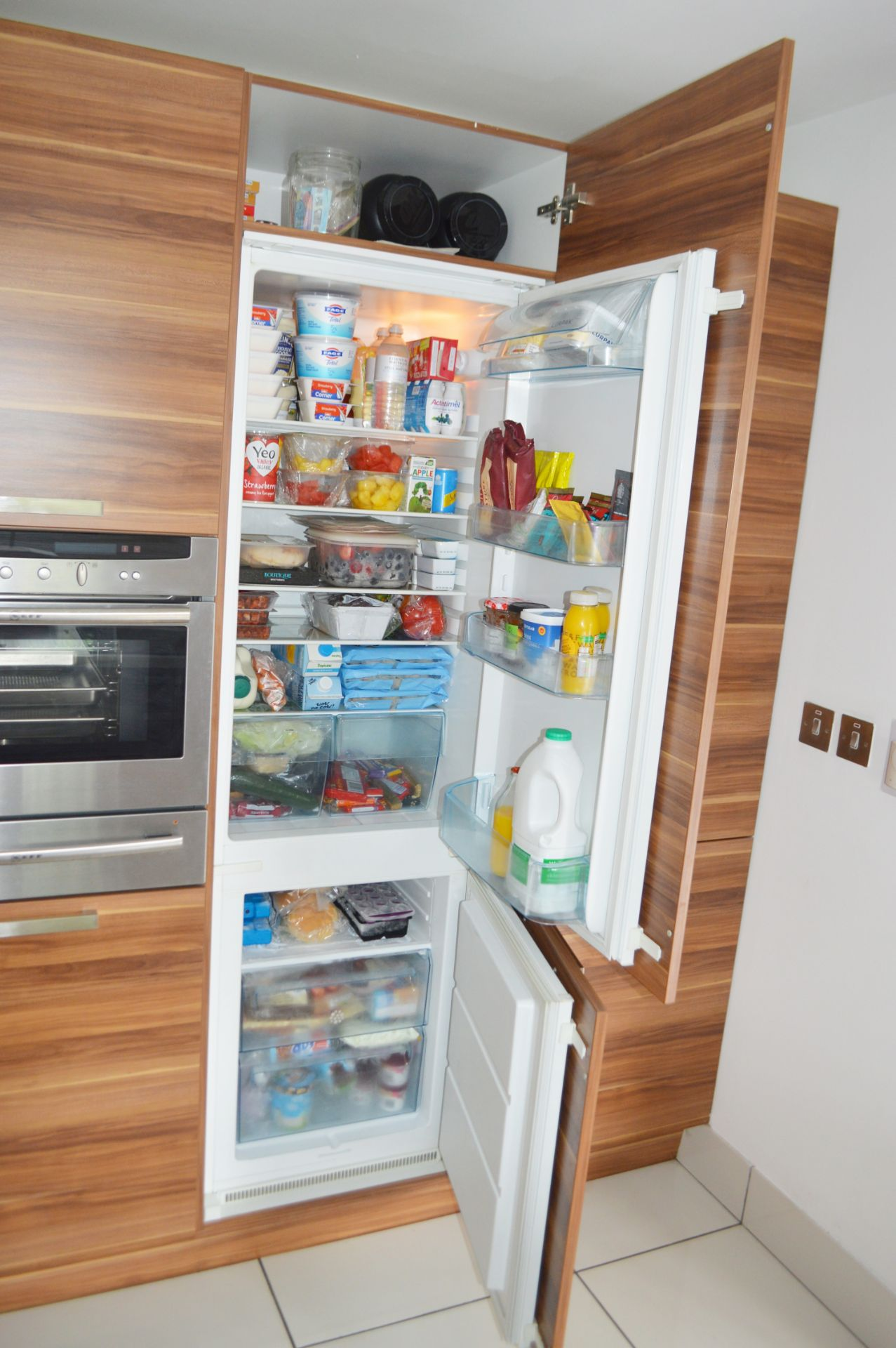1 x Contemporary Bespoke Fitted Kitchen With Integrated Neff Branded Appliances, Quartz Worktops - Image 10 of 52