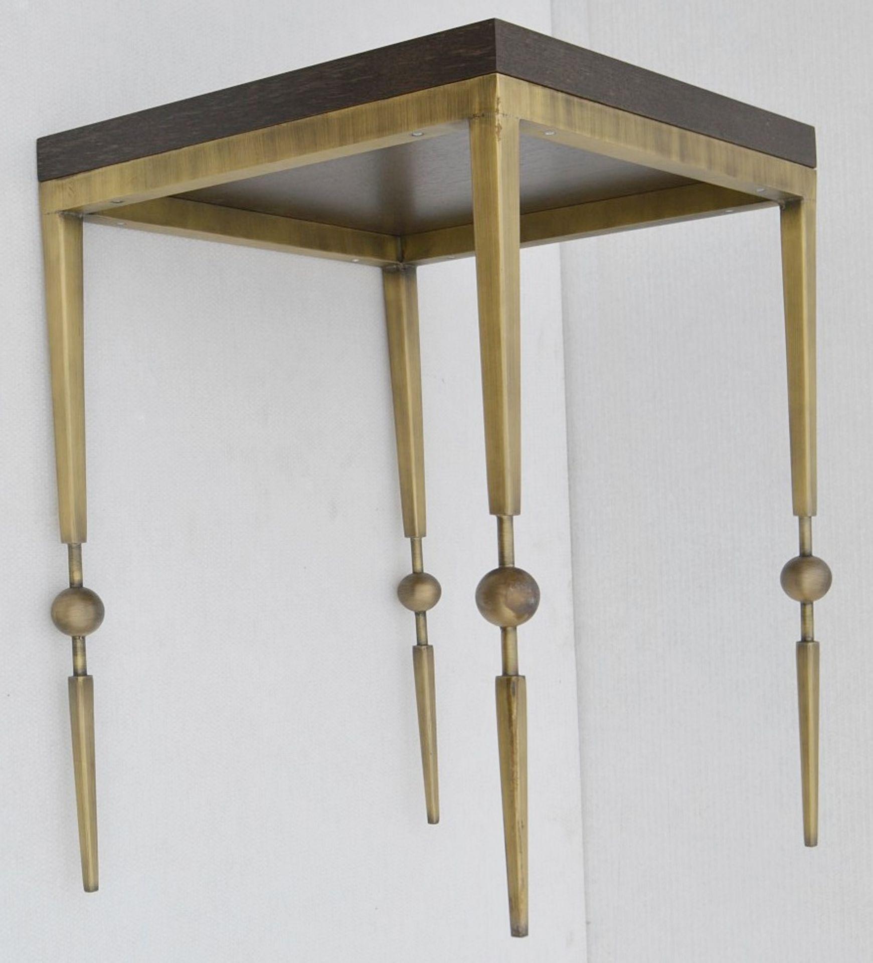 1 x JUSTIN VAN BREDA 'Sphere' Designer Occasional Table - Dimensions: H70 x W52 x D52cm - Ref: - Image 4 of 7