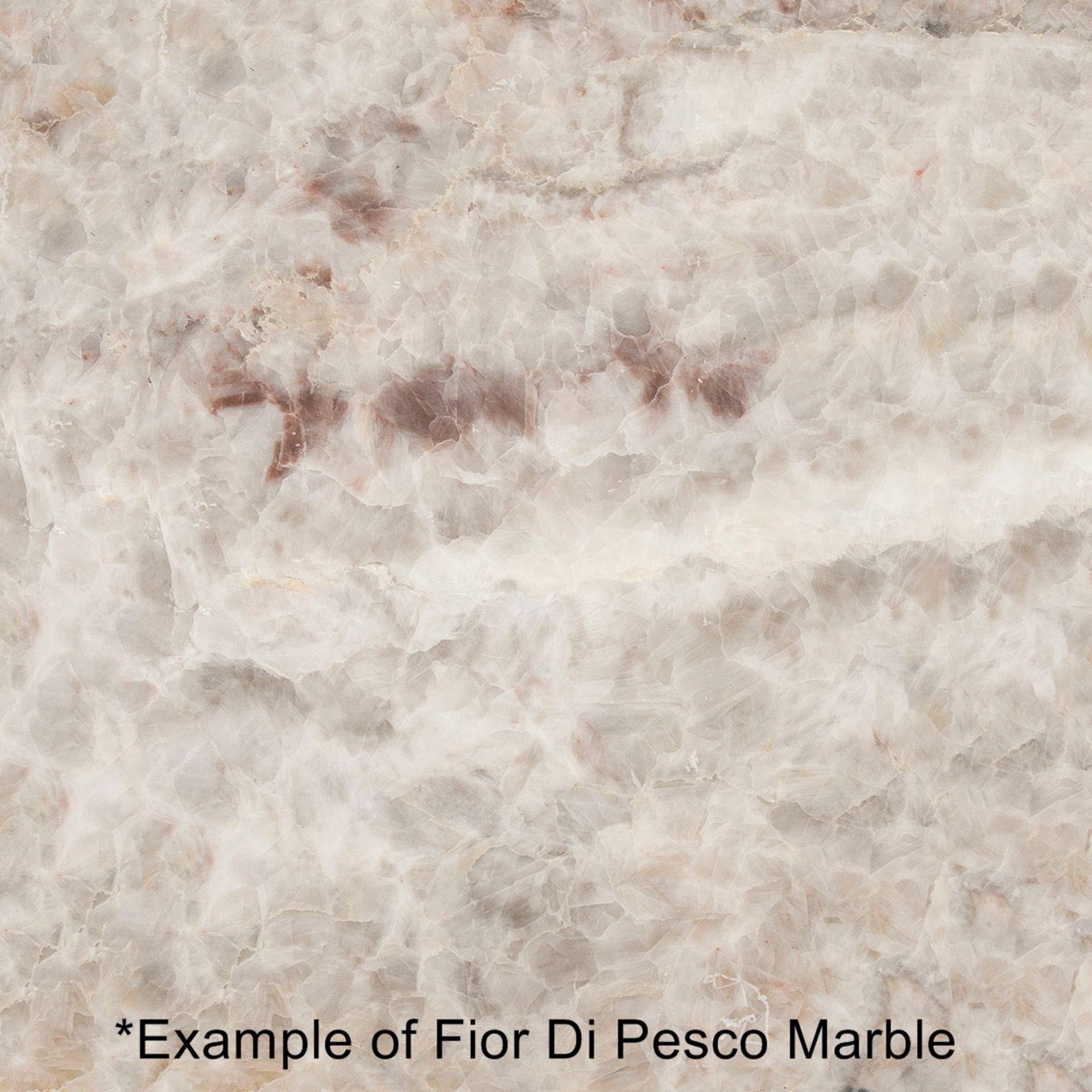1 x POLTRONA FRAU 'Othello' Fior Di Pesco 2.6 Metre Long Marble Table Top - Dimensions: 260x100cm - Image 4 of 6