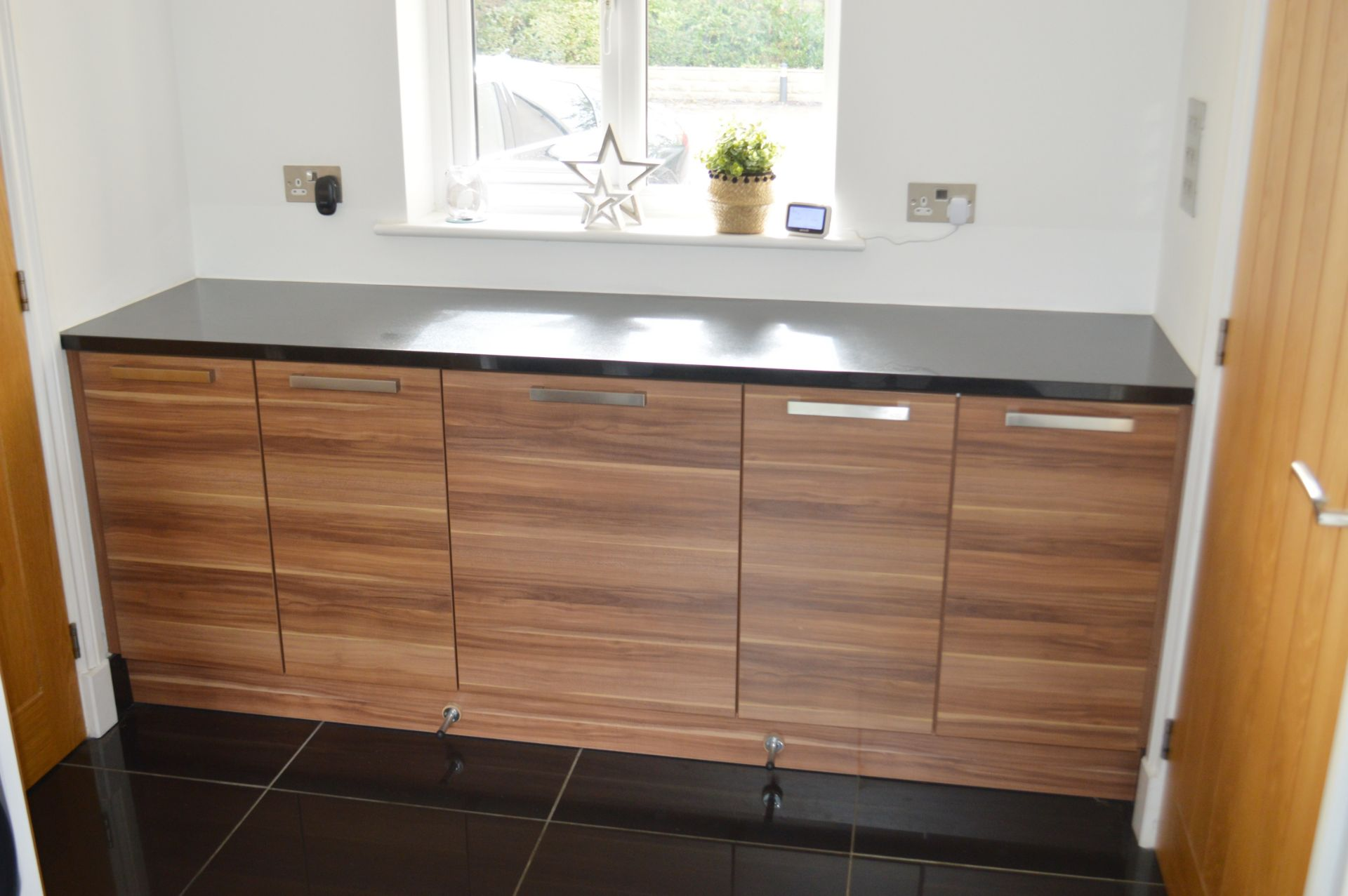 1 x Contemporary Bespoke Fitted Kitchen With Integrated Neff Branded Appliances, Quartz Worktops - Image 32 of 52