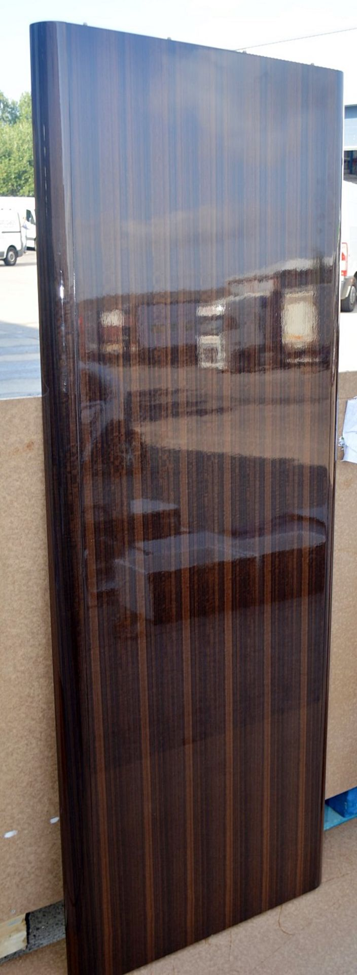 1 x FRATO Bespoke 'Siena' Wardrobe With A High Gloss Brown Wood Veneer Finish - Original RRP £18,890 - Image 4 of 21