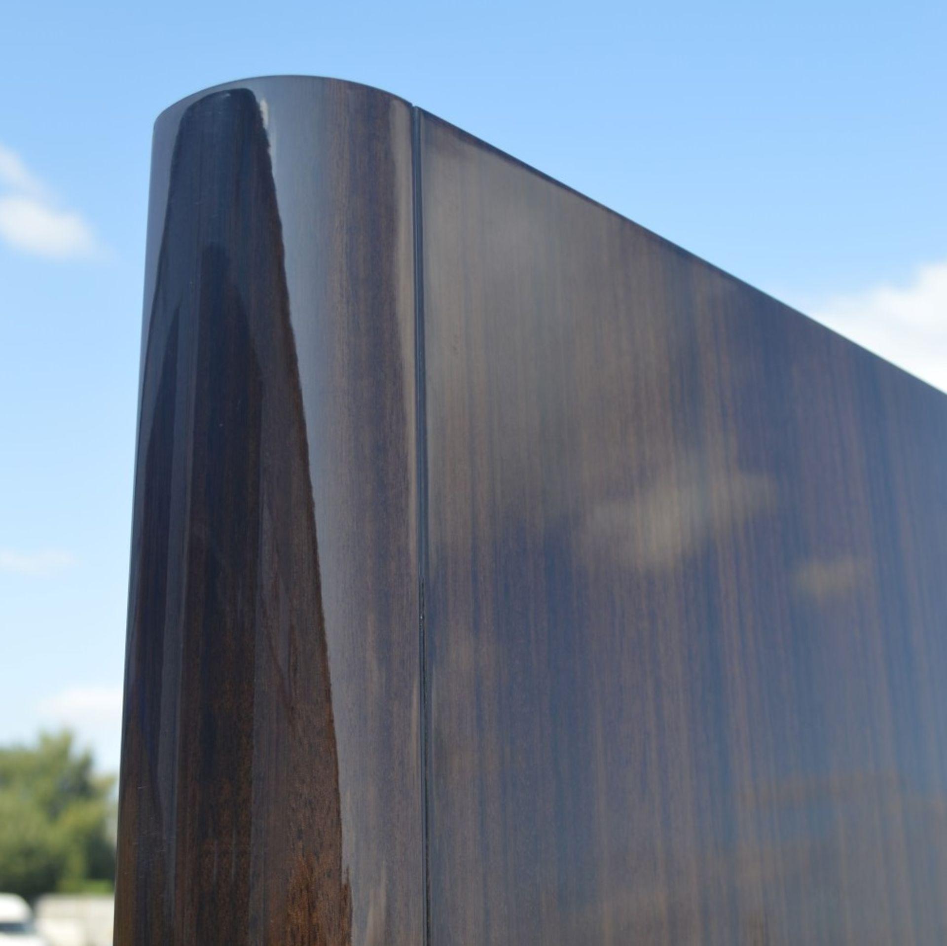 1 x FRATO Bespoke 'Siena' Wardrobe With A High Gloss Brown Wood Veneer Finish - Original RRP £18,890 - Image 19 of 21