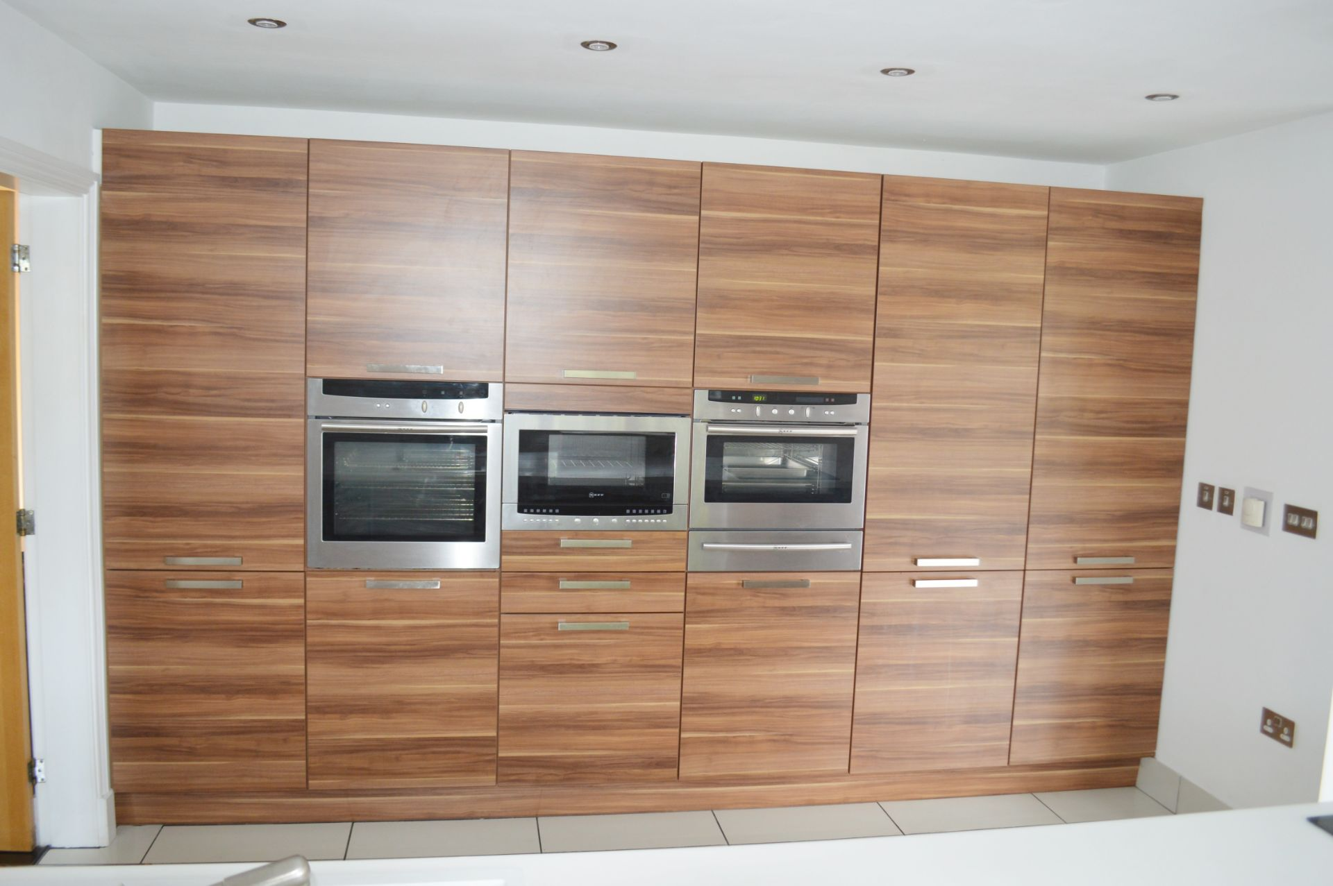 1 x Contemporary Bespoke Fitted Kitchen With Integrated Neff Branded Appliances, Quartz Worktops - Image 19 of 52