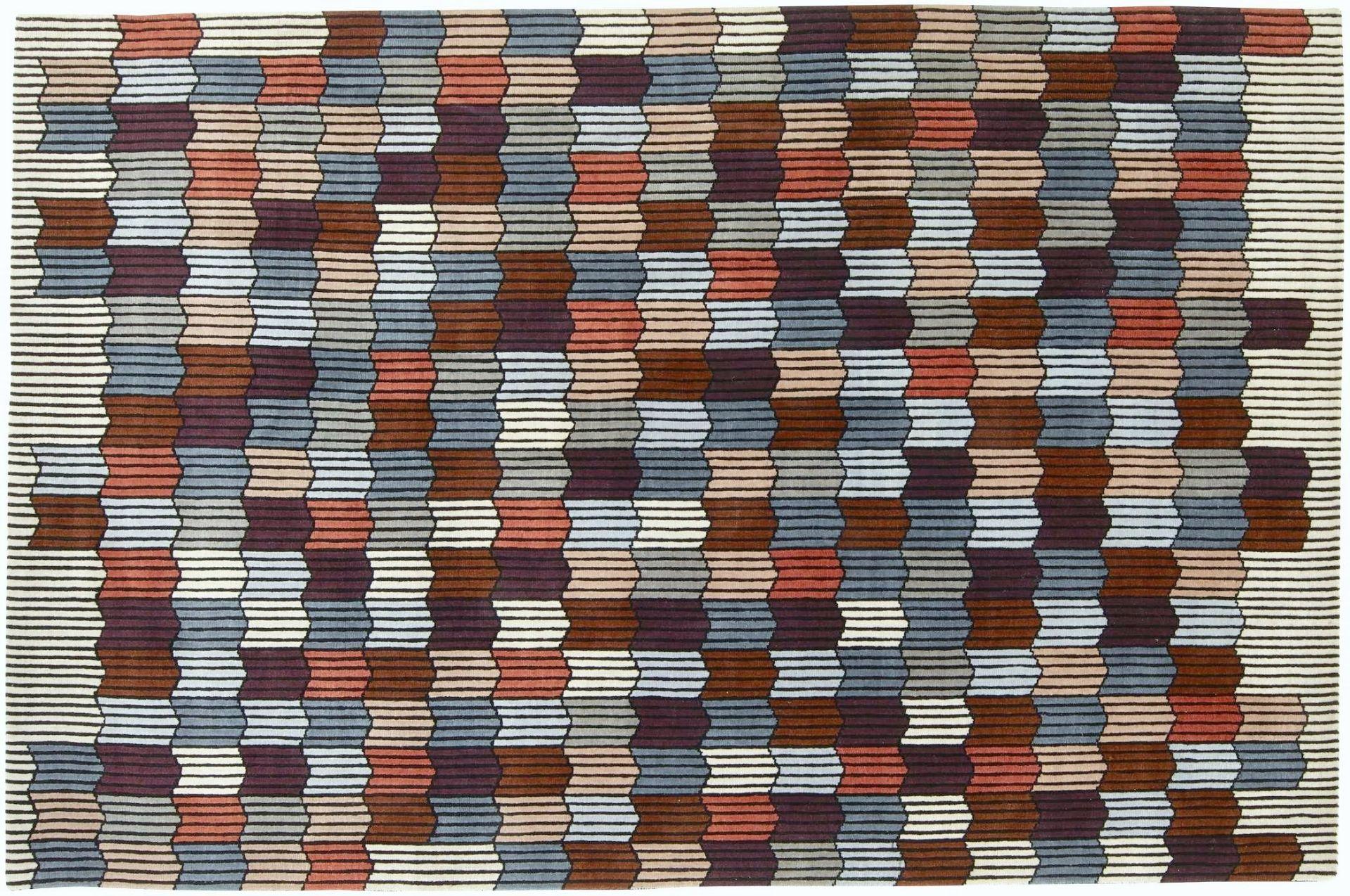1 x LIGNE ROSET 'Mémoire d'une Trame' Designer Hand-knotted Pastel ColouredLuxury Rug- RRP £2,450 - Image 8 of 8