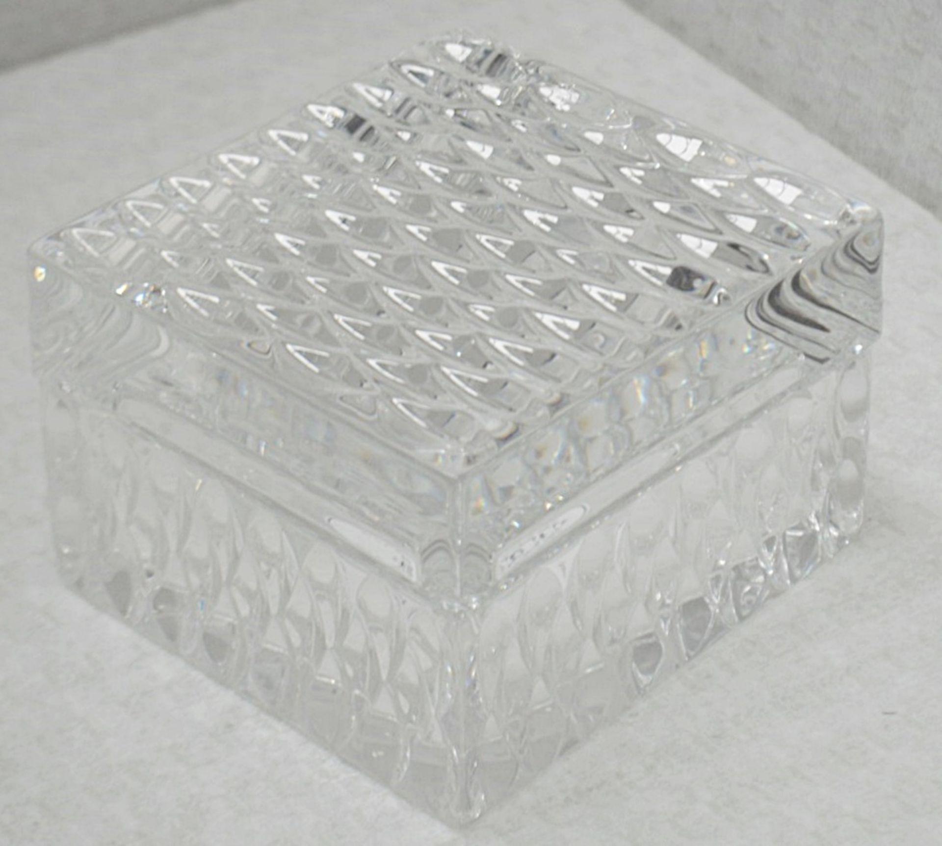 1 x BALDI 'Home Jewels' Italian Hand-crafted Artisan Clear Diamond Crystal Perfume Box, With A - Image 5 of 5