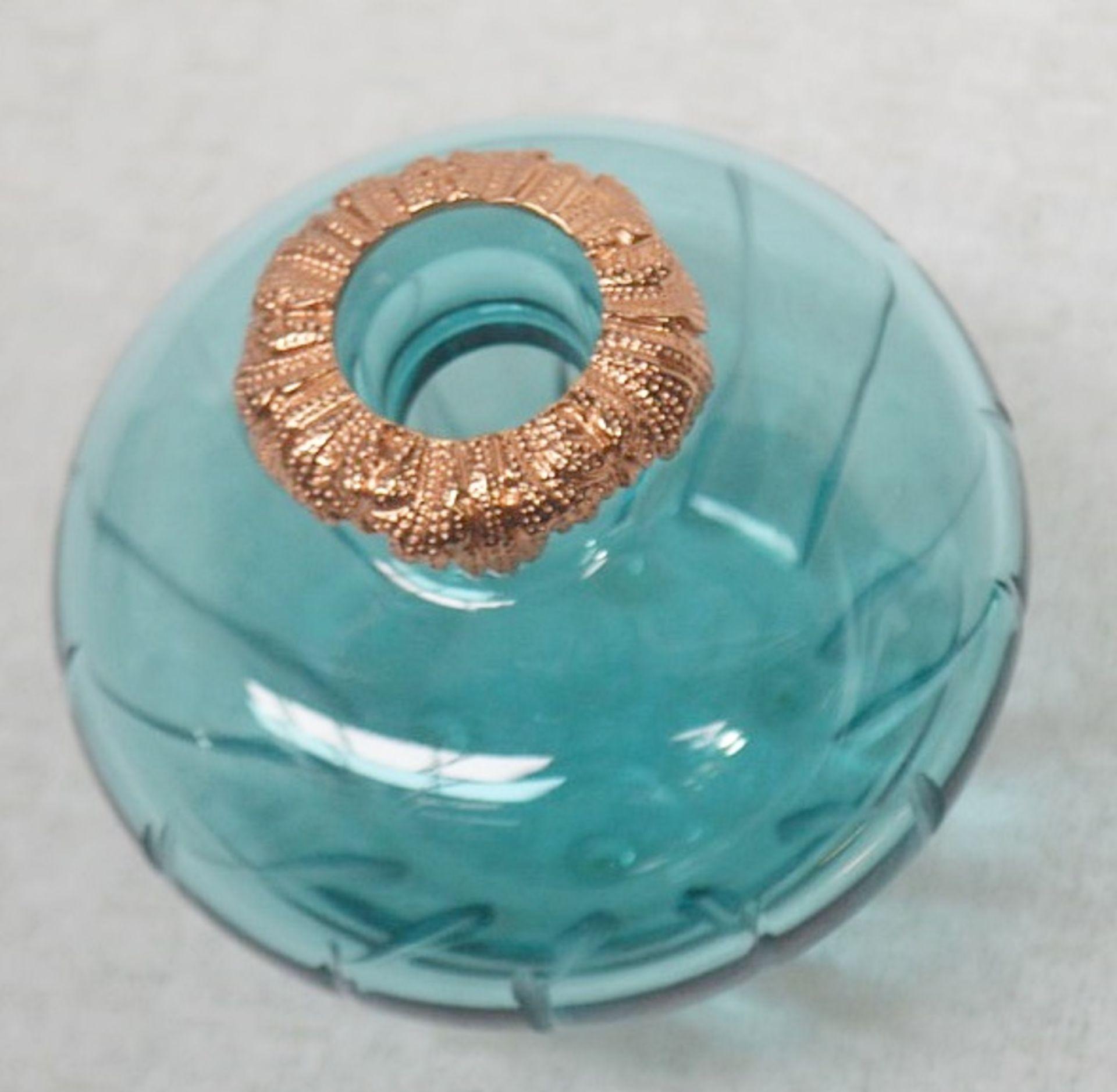 1 x BALDI 'Home Jewels' Italian Hand-crafted Artisan Ottanio Crystal Perfume Bottle & Stick - - Image 6 of 6