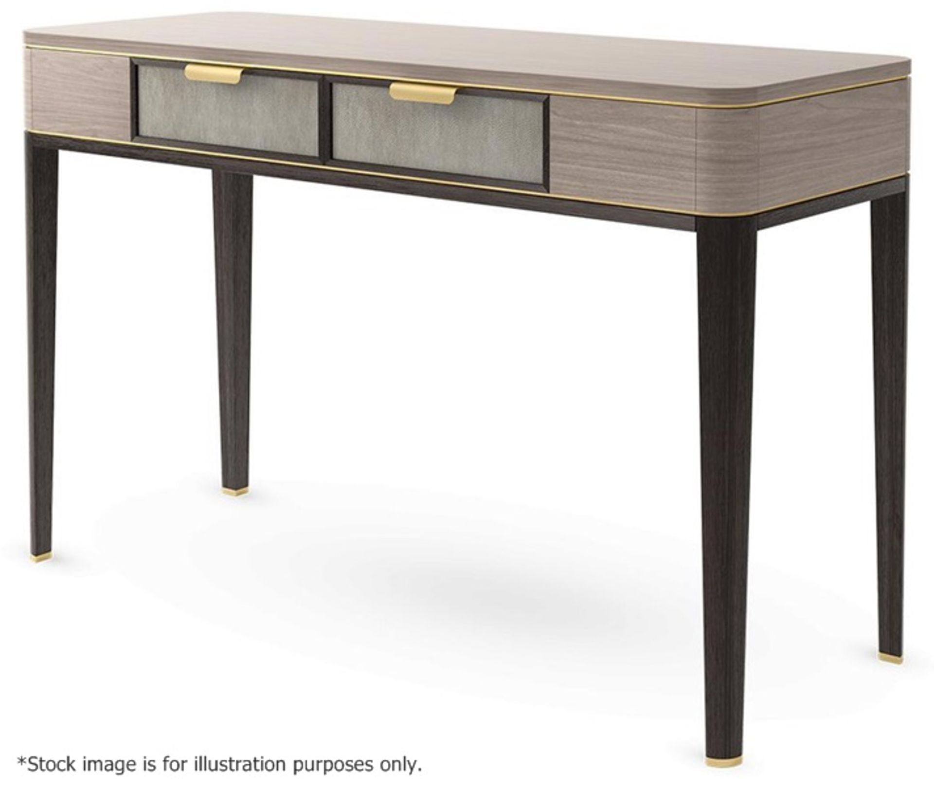 1 x FRATO 'Mandalay' Luxury Designer 2-Drawer Dresser Dressing Table In A Gloss Finish - RRP £4,300 - Image 9 of 17