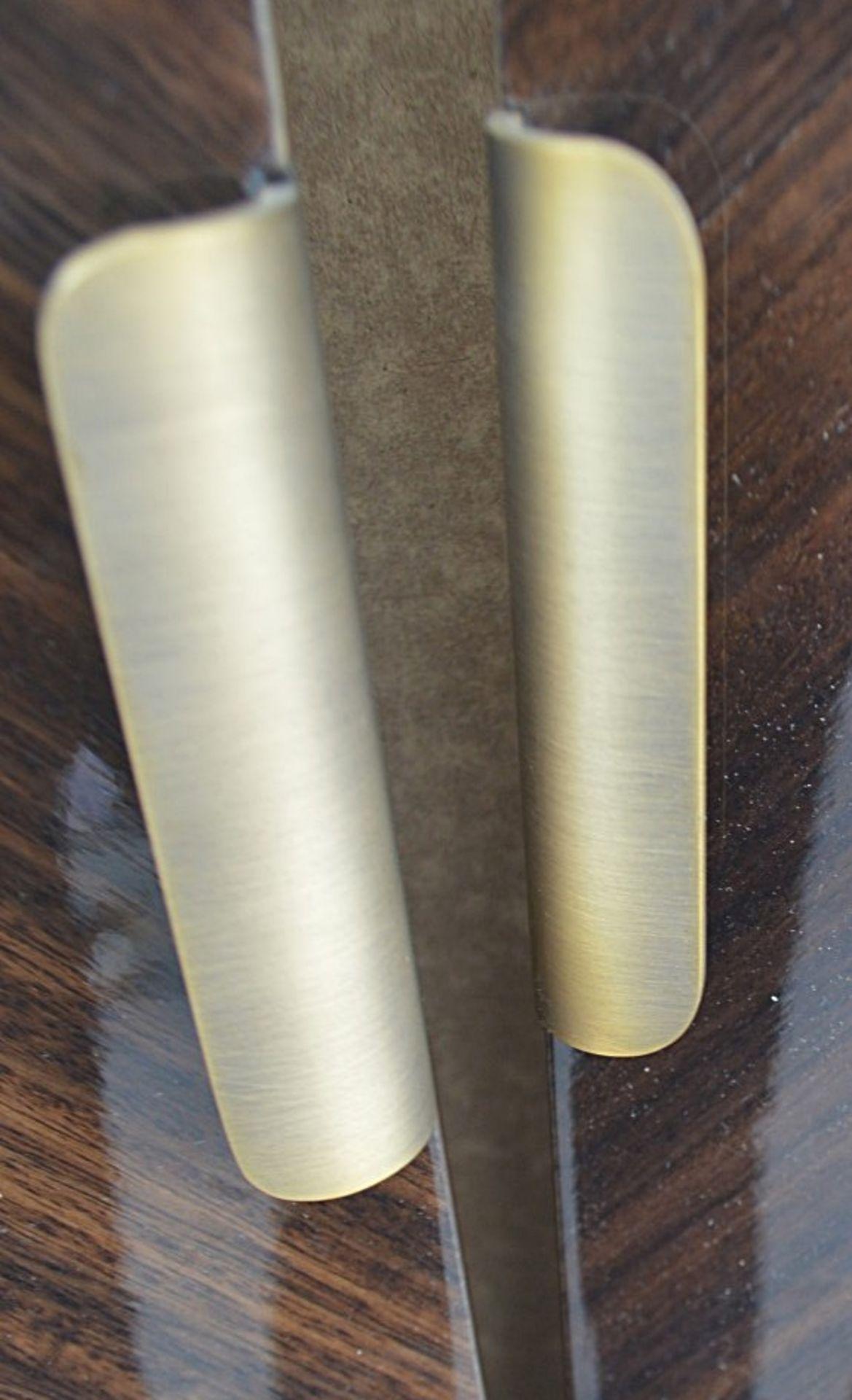 1 x FRATO Bespoke 'Siena' Wardrobe With A High Gloss Brown Wood Veneer Finish - Original RRP £18,890 - Image 13 of 21