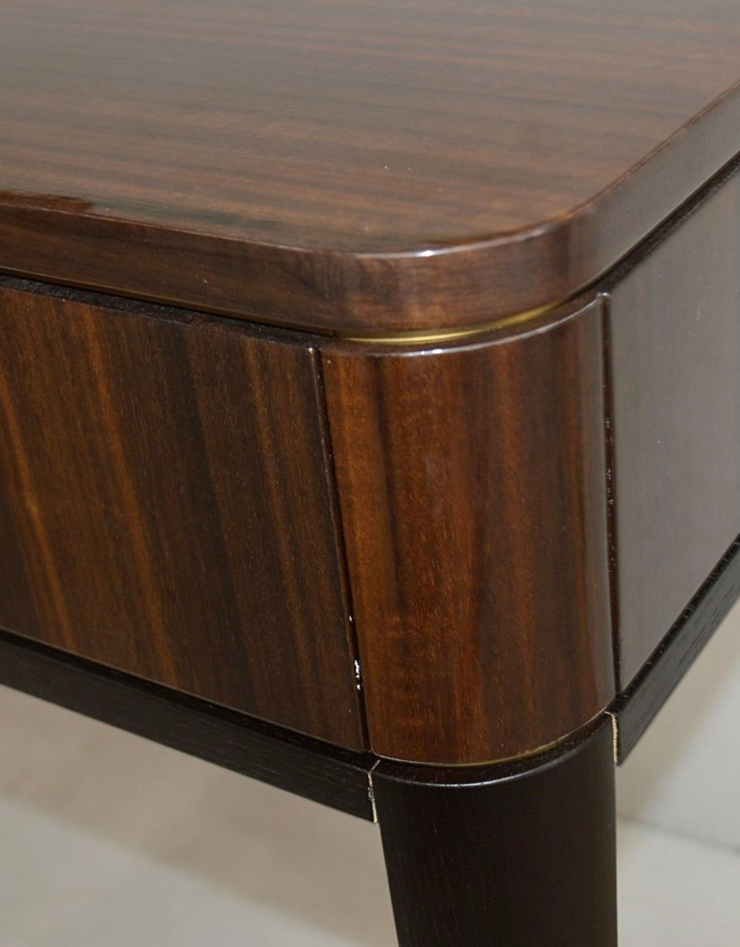 1 x FRATO 'Mandalay' Luxury Designer 2-Drawer Dresser Dressing Table In A Gloss Finish - RRP £4,300 - Image 2 of 17