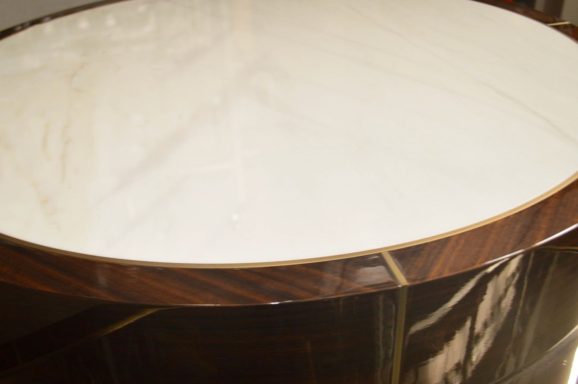 1 x FRATO 'Aarhus' Luxury Coffee Table Topped With Marble With High Gloss Finish - RRP £6,611 - Image 2 of 9