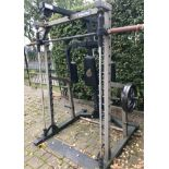1 x Nautilus Multi Gym With Weights And Bench - Professional Gym / Sports Equipment - CL535 -