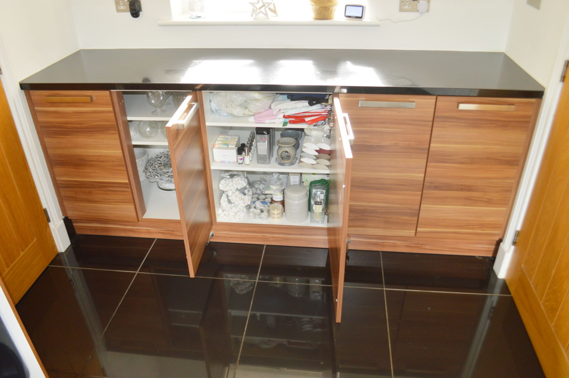 1 x Contemporary Bespoke Fitted Kitchen With Integrated Neff Branded Appliances, Quartz Worktops - Image 7 of 52