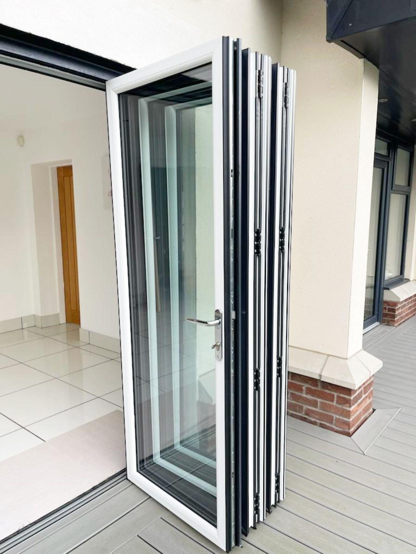 1 x Slide And Fold Bi Fold Doors Including Frames - CL685 - Location: Blackburn BB6 - NO VAT On - Image 3 of 7