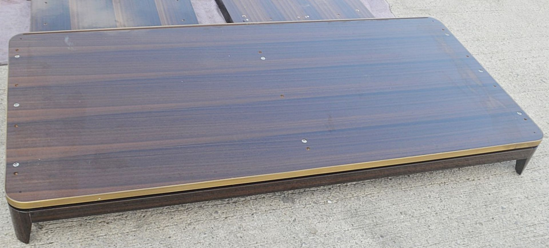 1 x FRATO Bespoke 'Siena' Wardrobe With A High Gloss Brown Wood Veneer Finish - Original RRP £18,890 - Image 3 of 21