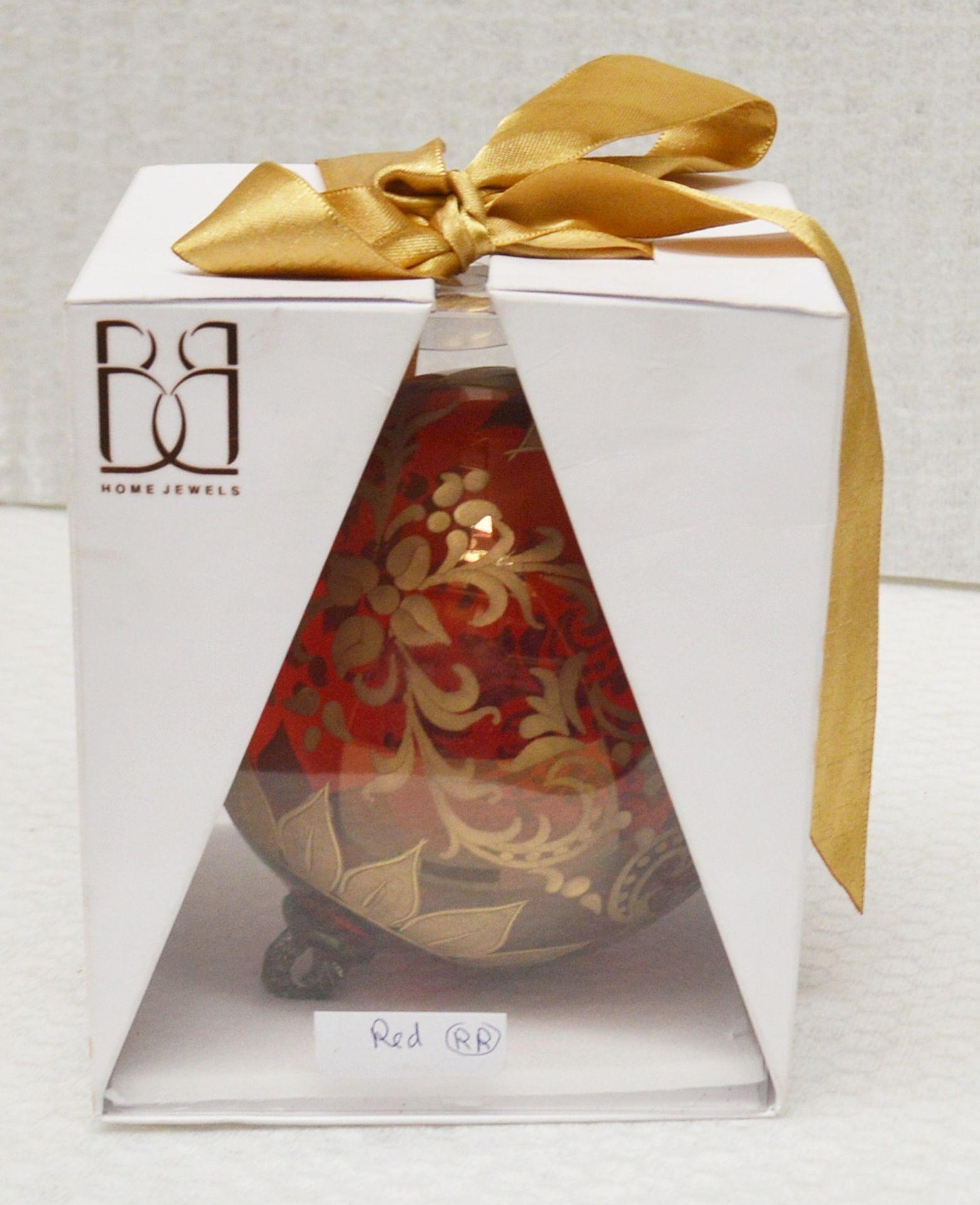 1 x BALDI 'Home Jewels' Italian Hand-crafted Artisan Christmas Tree Decoration - RRP £124.00