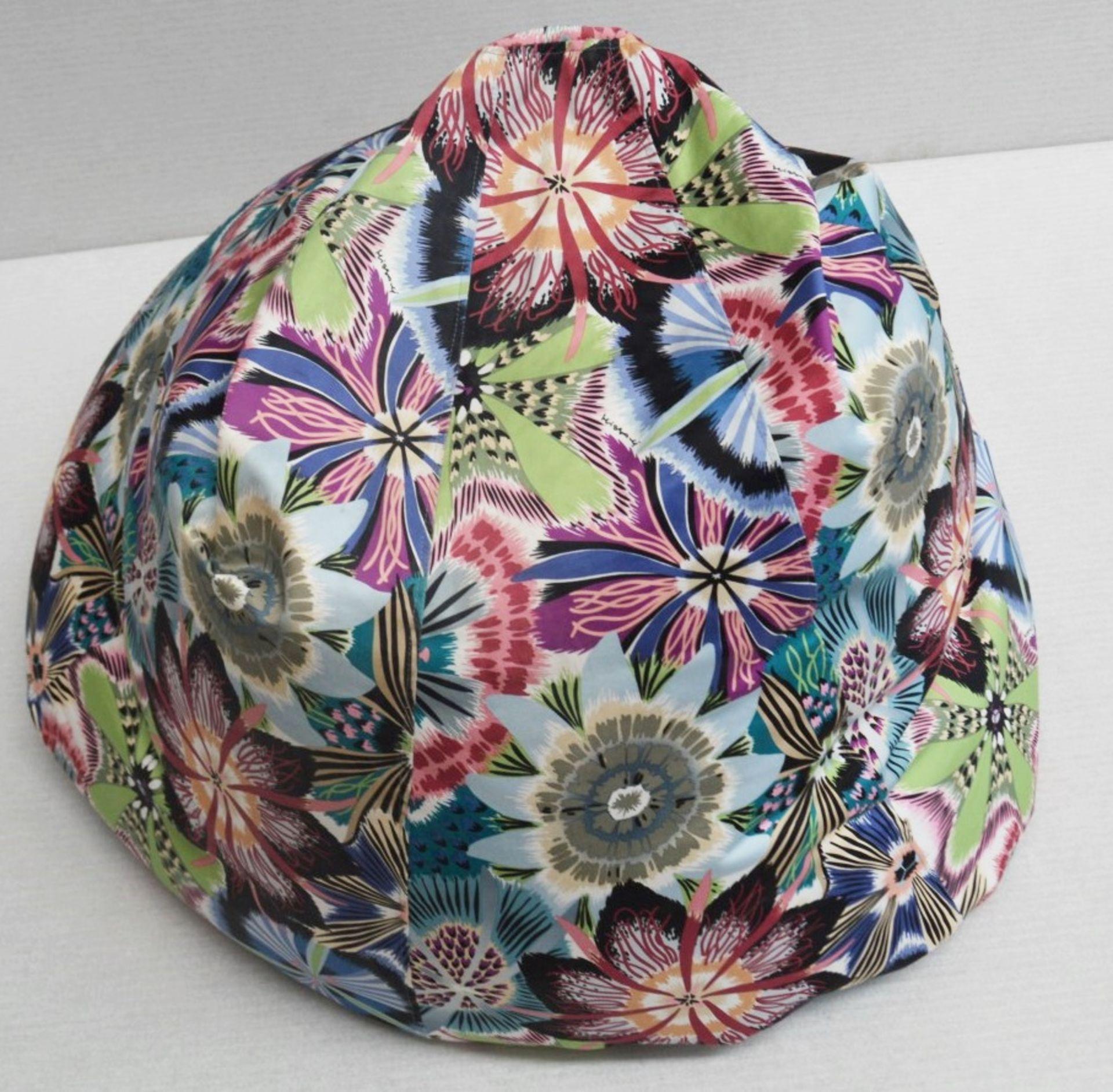1 x Large Bean Bag Chair In 'Missoni Passiflora' Fabric - Dimensions Height 100 x Diameter 70cm - Image 5 of 5