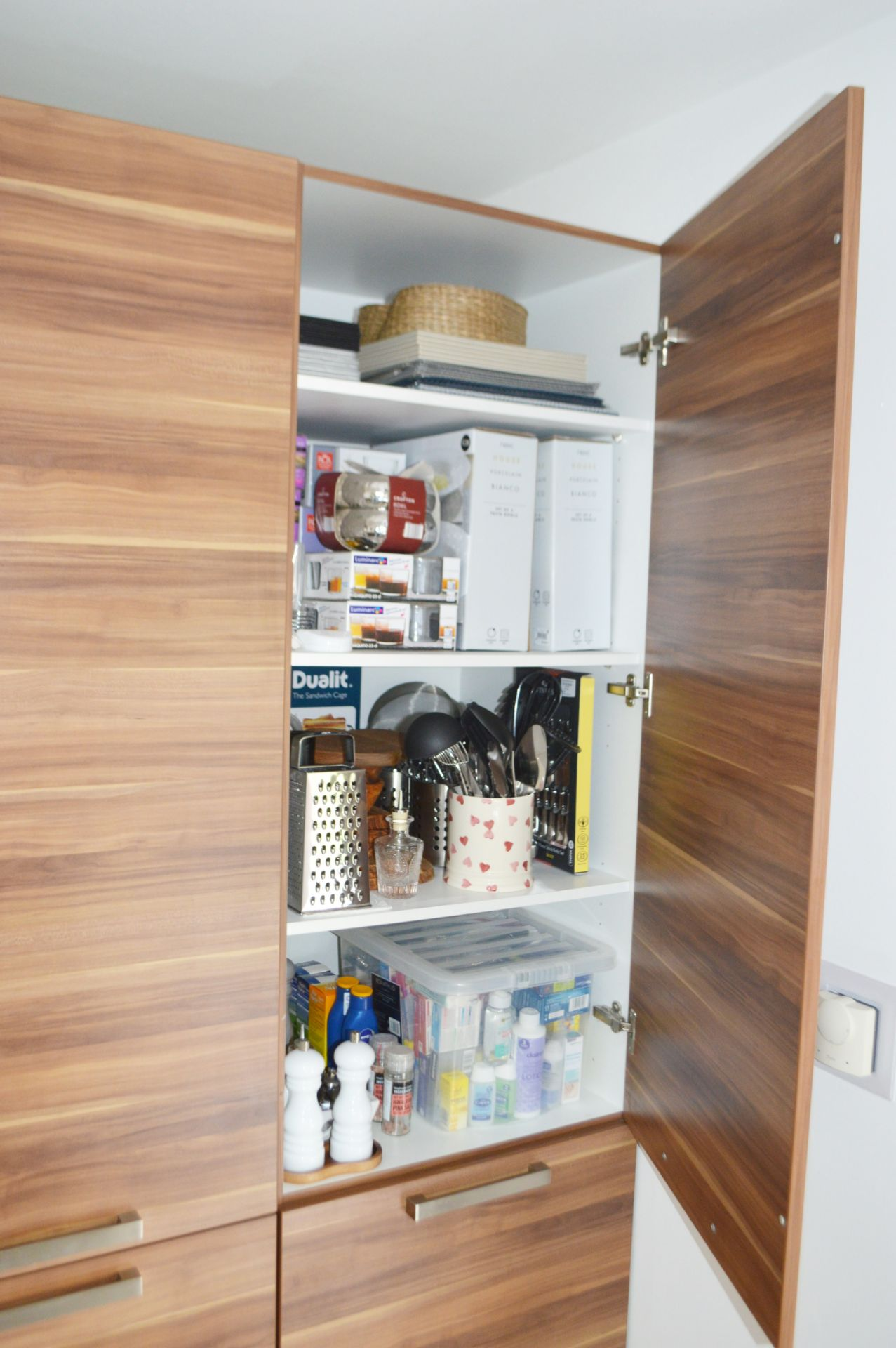 1 x Contemporary Bespoke Fitted Kitchen With Integrated Neff Branded Appliances, Quartz Worktops - Image 52 of 52