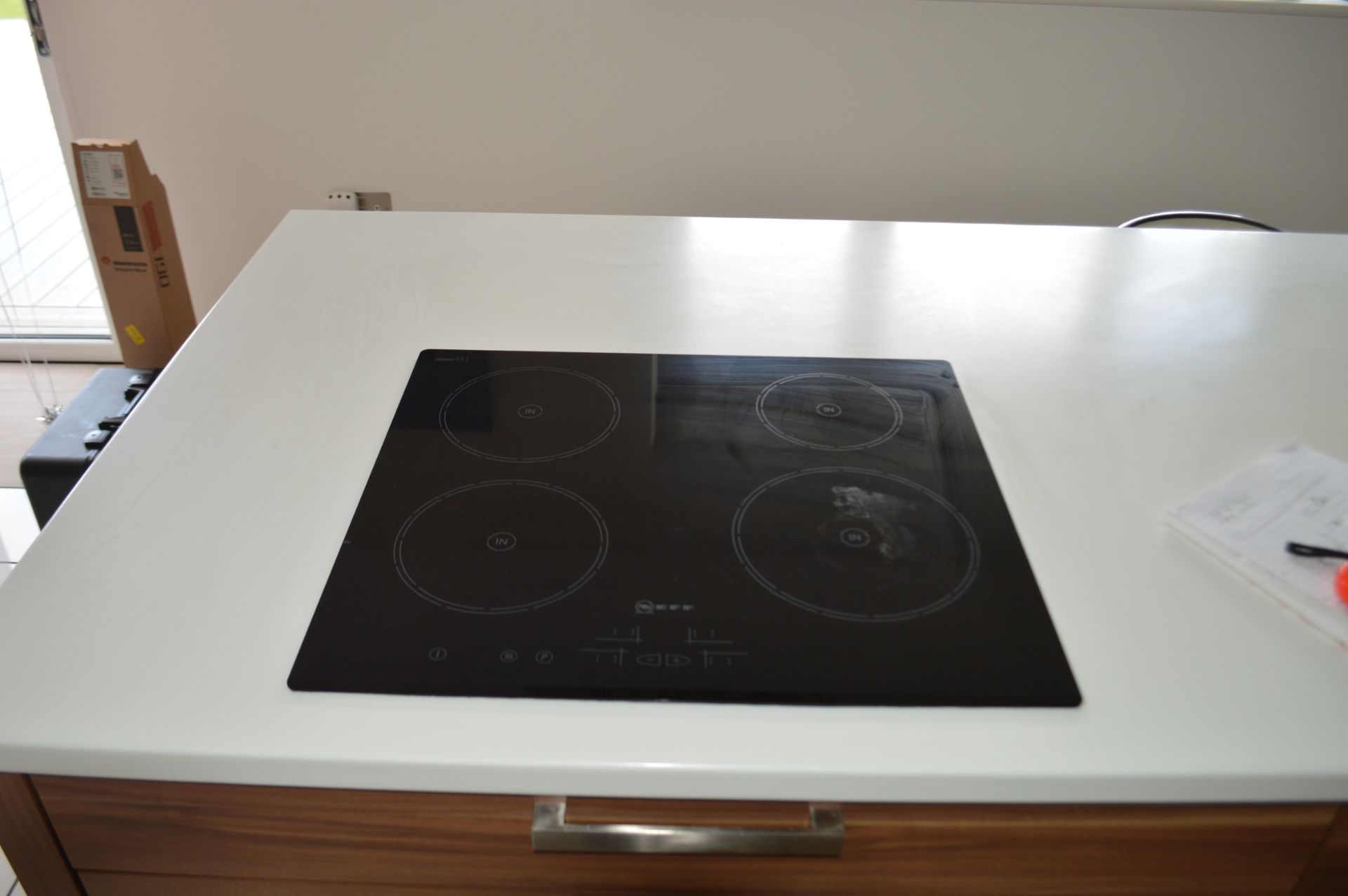 1 x Contemporary Bespoke Fitted Kitchen With Integrated Neff Branded Appliances, Quartz Worktops - Image 51 of 52