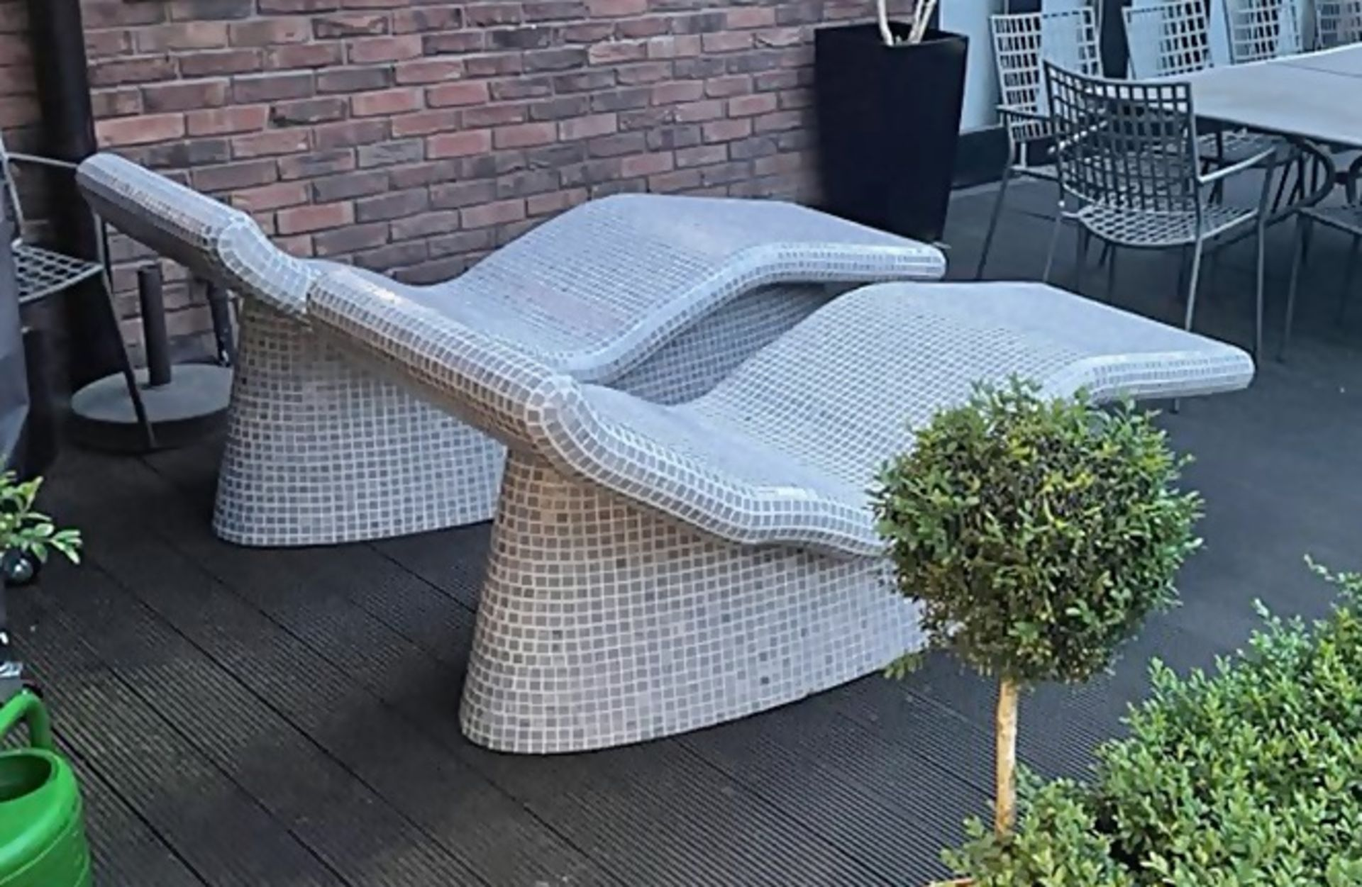 2 x Heated Sun Lounge Chairs - Brand New / Unused - Original Price £8,000 - CL636 - Location: - Image 2 of 2