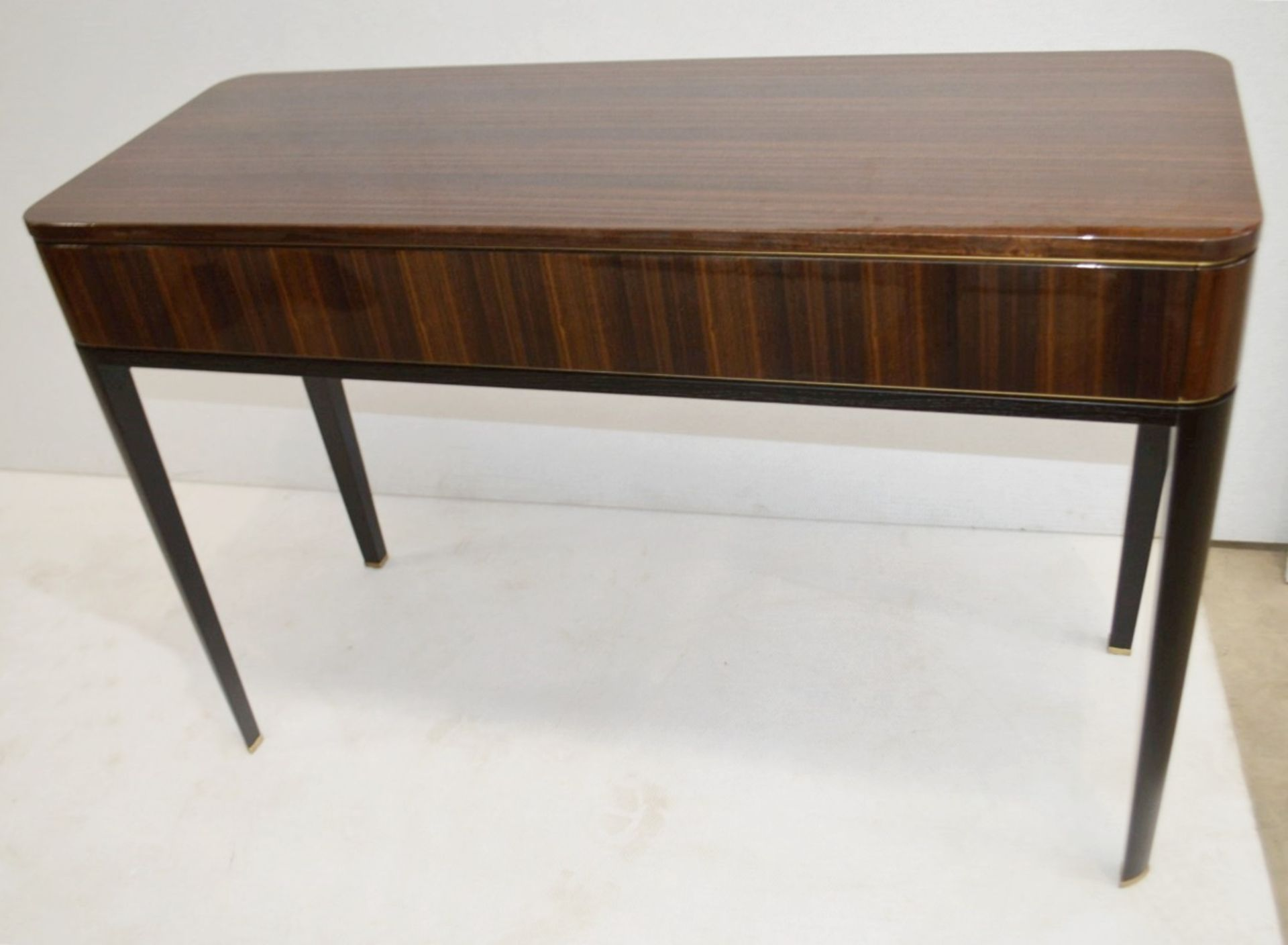 1 x FRATO 'Mandalay' Luxury Designer 2-Drawer Dresser Dressing Table In A Gloss Finish - RRP £4,300 - Image 3 of 17