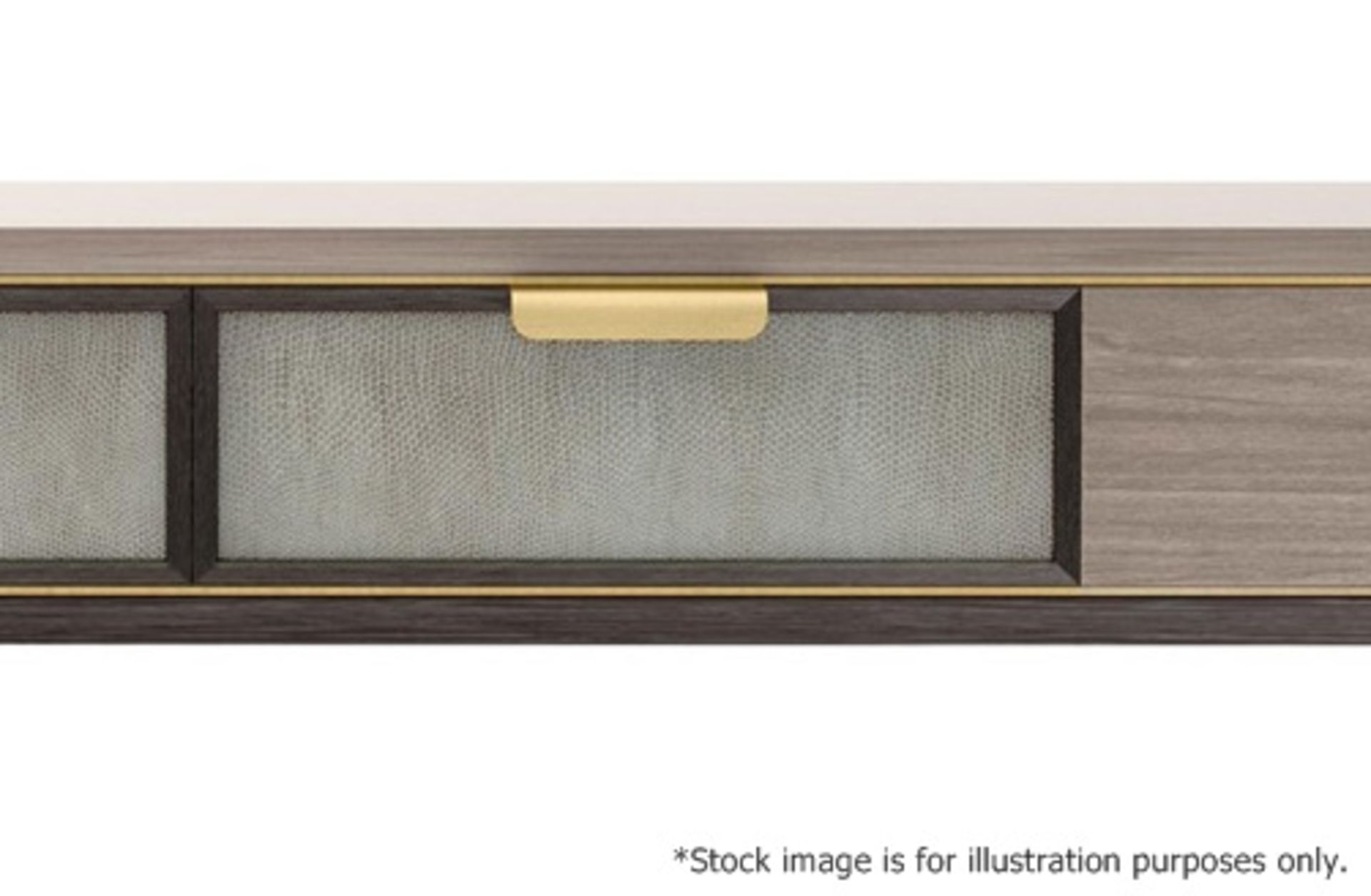 1 x FRATO 'Mandalay' Luxury Designer 2-Drawer Dresser Dressing Table In A Gloss Finish - RRP £4,300 - Image 10 of 17