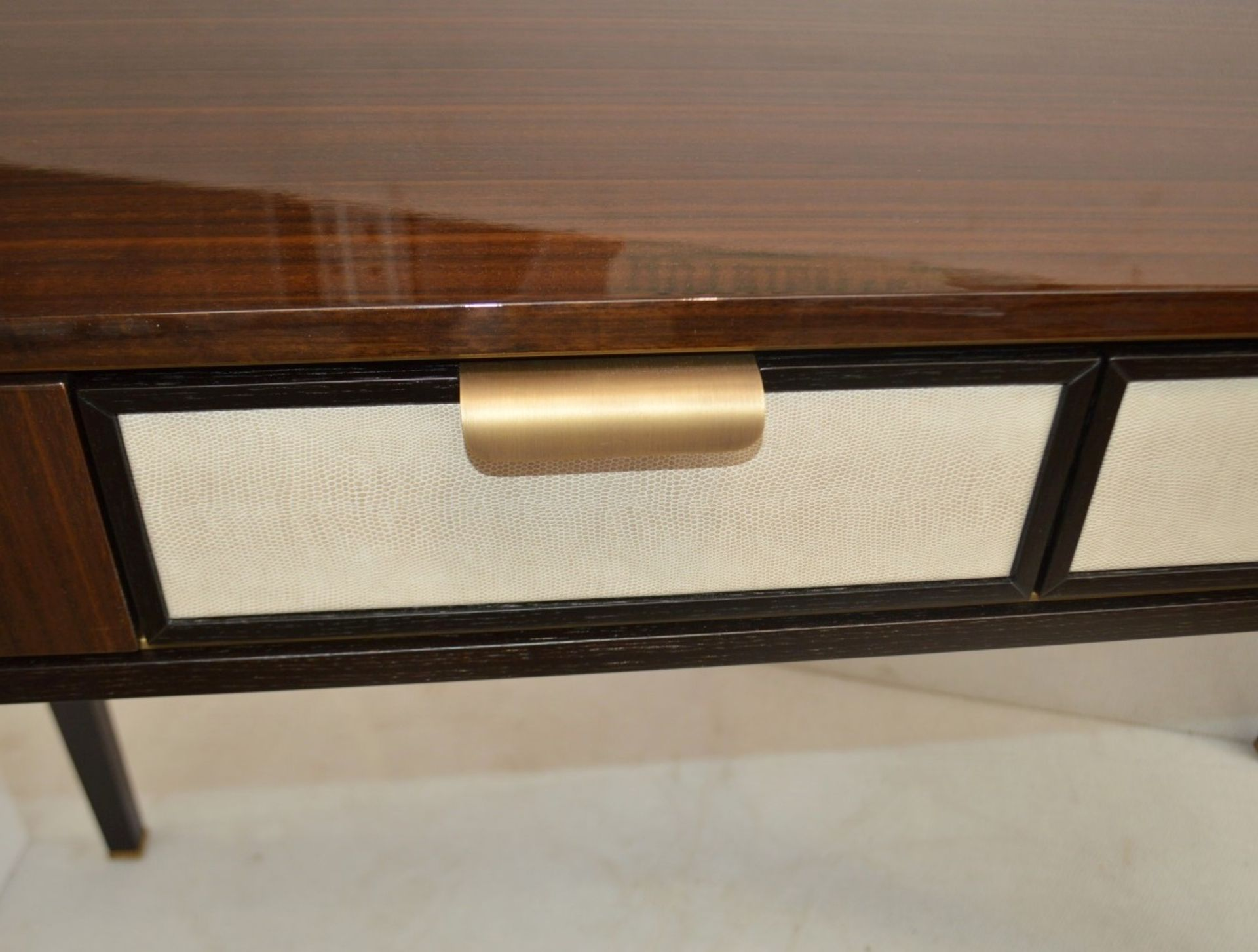 1 x FRATO 'Mandalay' Luxury Designer 2-Drawer Dresser Dressing Table In A Gloss Finish - RRP £4,300 - Image 17 of 17