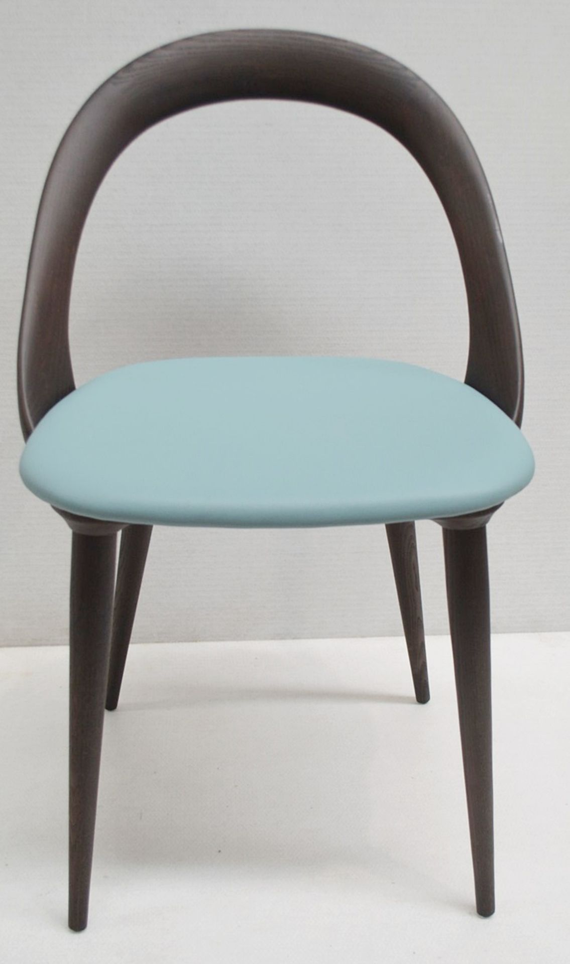 Set Of 4 x PORADA 'Ester' Italian Designer Dining Chairs Featuring Leather Seats - RRP £5,120 - Image 3 of 11