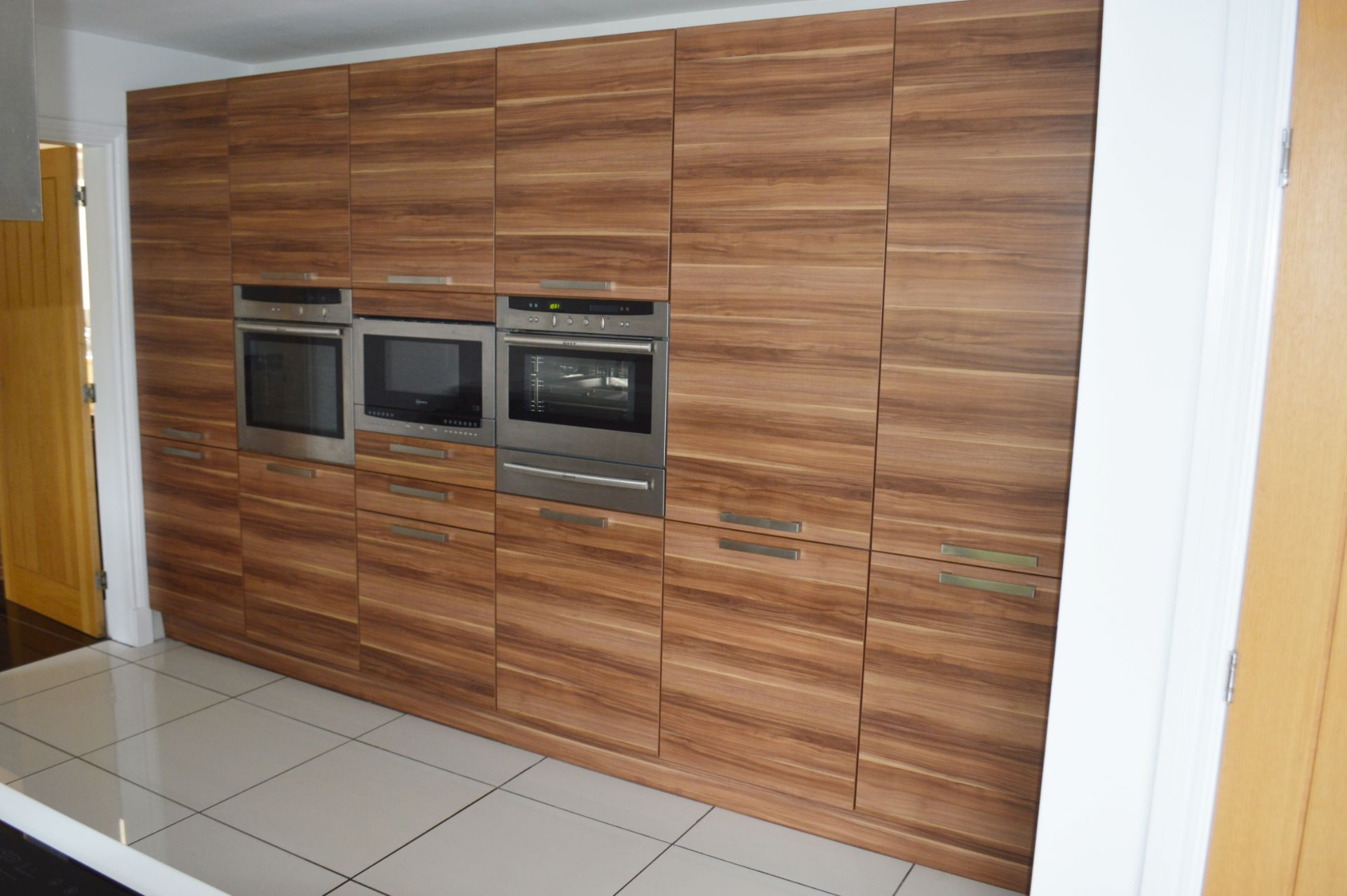 1 x Contemporary Bespoke Fitted Kitchen With Integrated Neff Branded Appliances, Quartz Worktops - Image 2 of 52