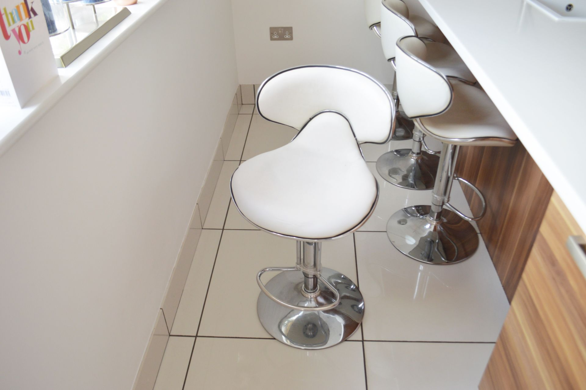 1 x Contemporary Bespoke Fitted Kitchen With Integrated Neff Branded Appliances, Quartz Worktops - Image 21 of 52
