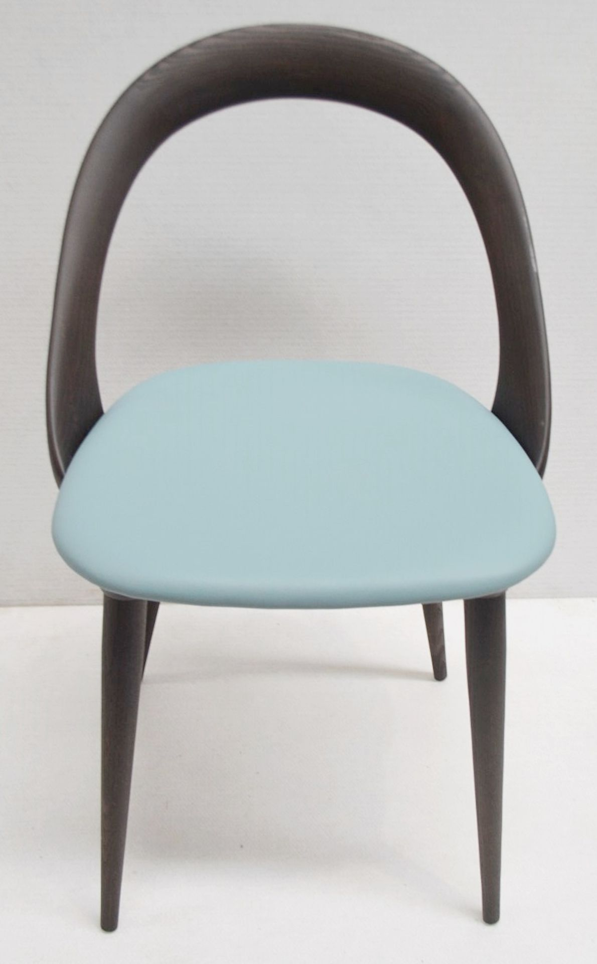 Set Of 4 x PORADA 'Ester' Italian Designer Dining Chairs Featuring Leather Seats - RRP £5,120 - Image 6 of 11