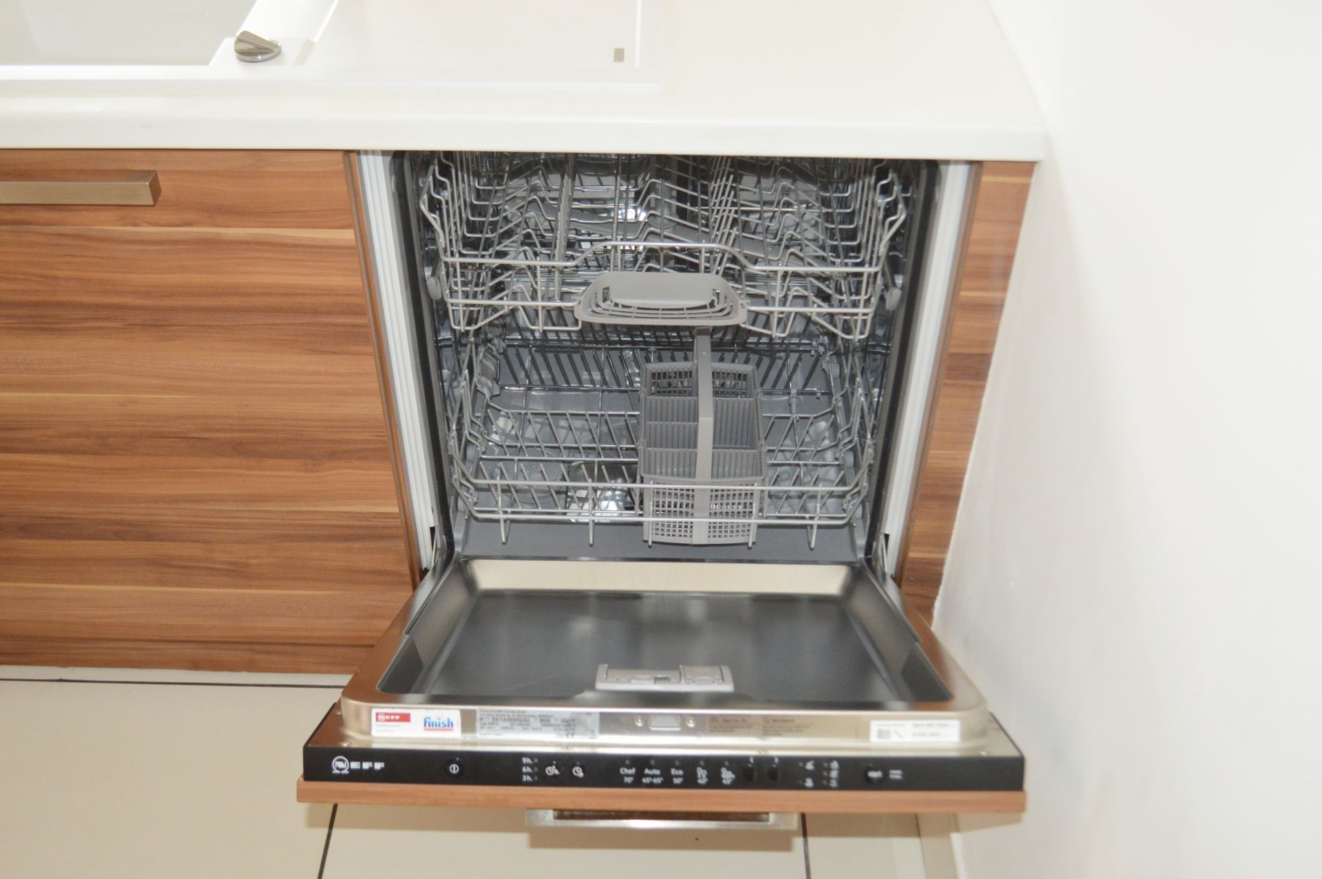1 x Contemporary Bespoke Fitted Kitchen With Integrated Neff Branded Appliances, Quartz Worktops - Image 38 of 52