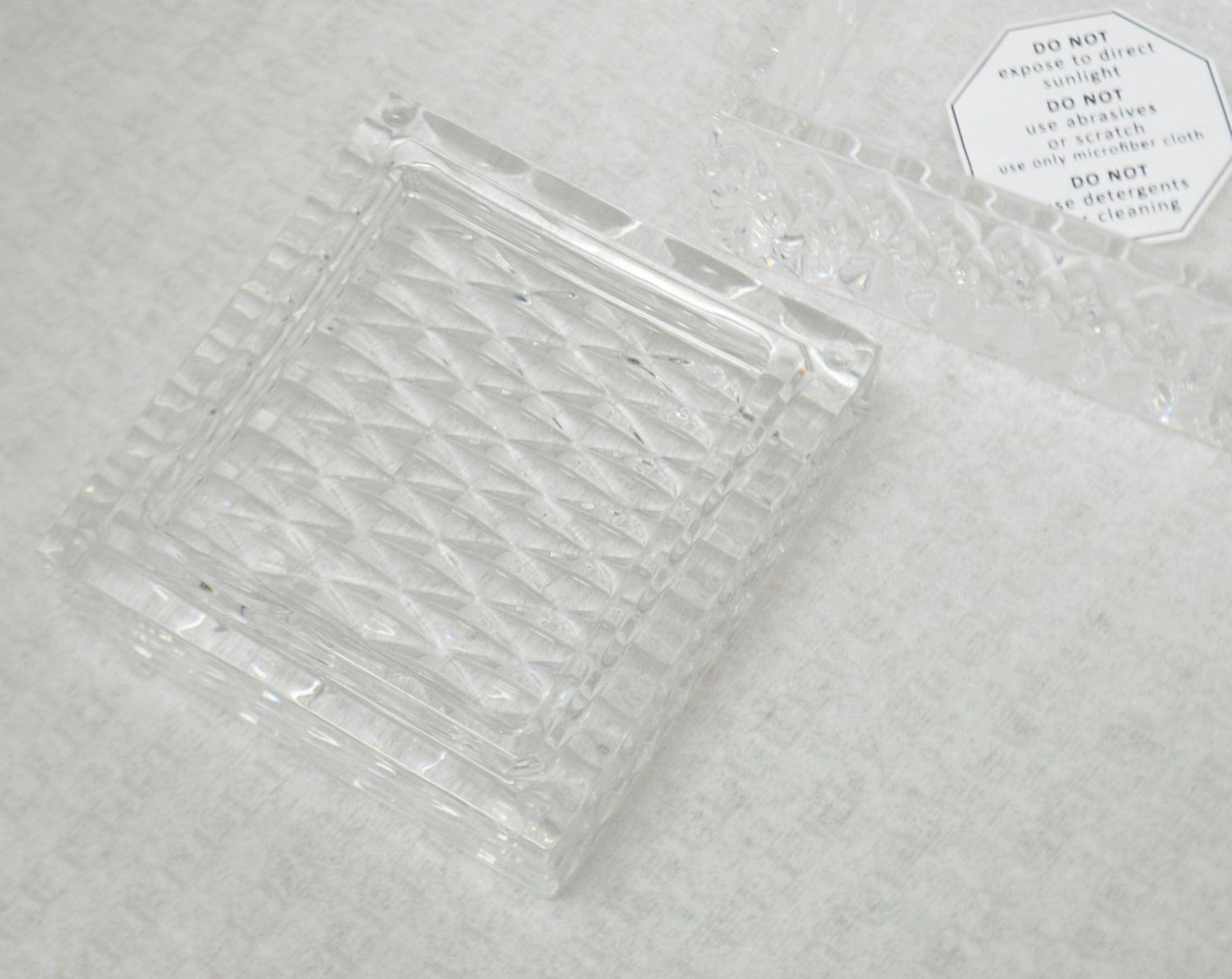 1 x BALDI 'Home Jewels' Italian Hand-crafted Artisan Clear Diamond Crystal Perfume Box, With A - Image 3 of 5