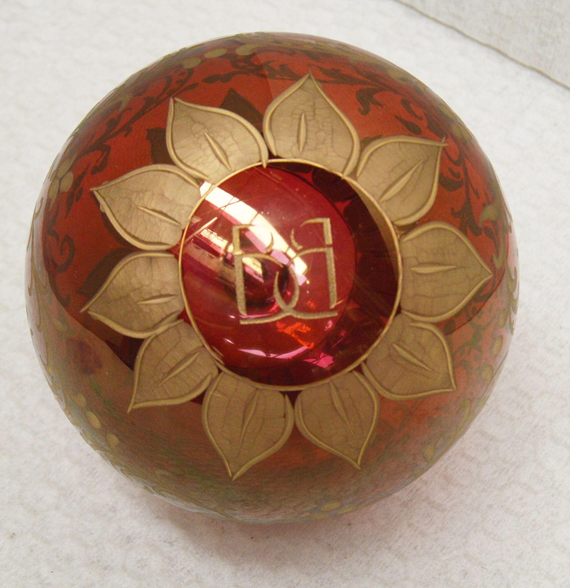 1 x BALDI 'Home Jewels' Italian Hand-crafted Artisan Christmas Tree Decoration - RRP £124.00 - Image 2 of 3