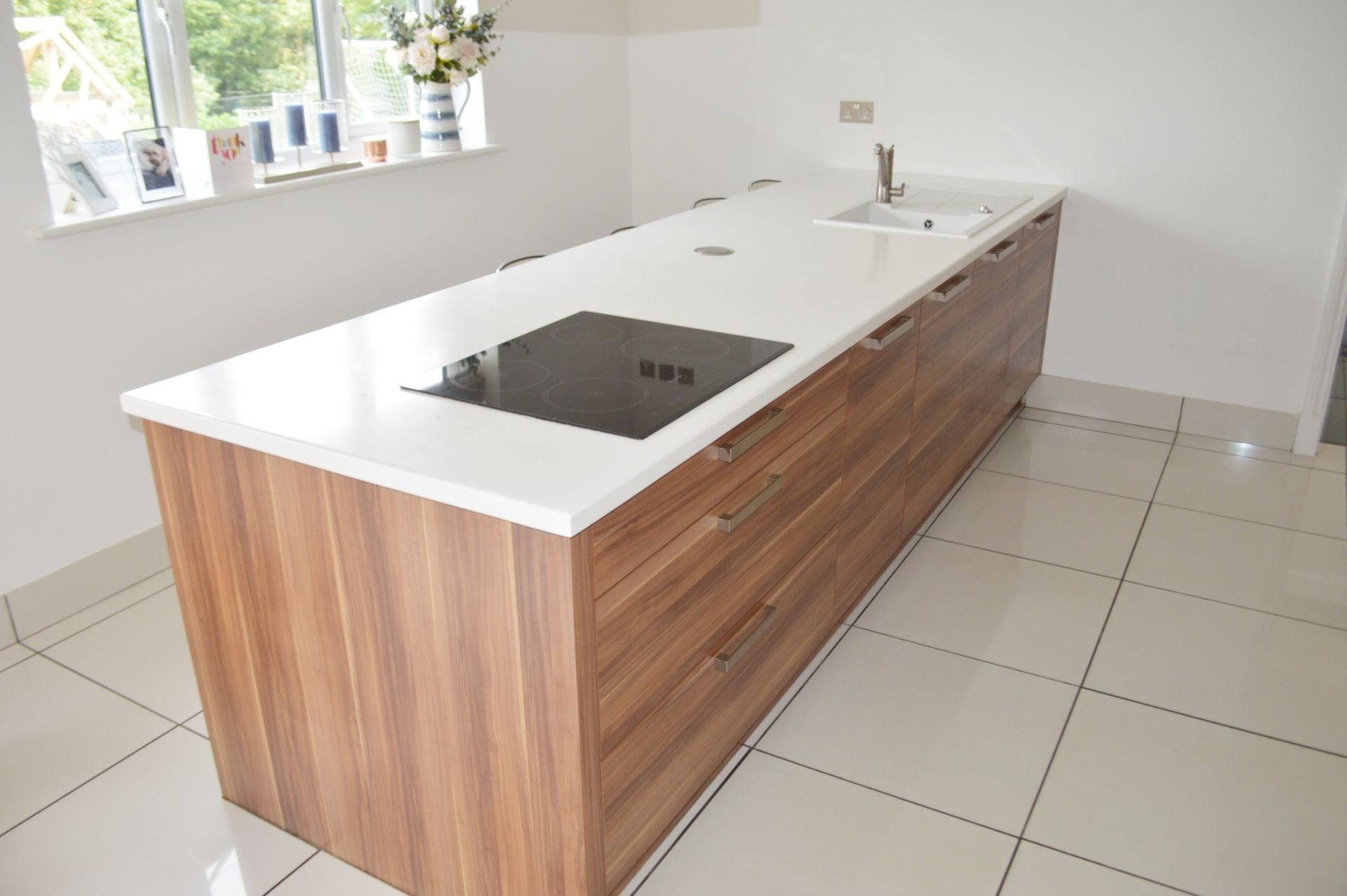 1 x Contemporary Bespoke Fitted Kitchen With Integrated Neff Branded Appliances, Quartz Worktops - Image 16 of 52
