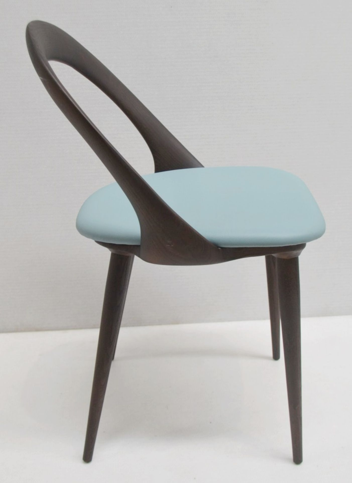 Set Of 4 x PORADA 'Ester' Italian Designer Dining Chairs Featuring Leather Seats - RRP £5,120 - Image 11 of 11