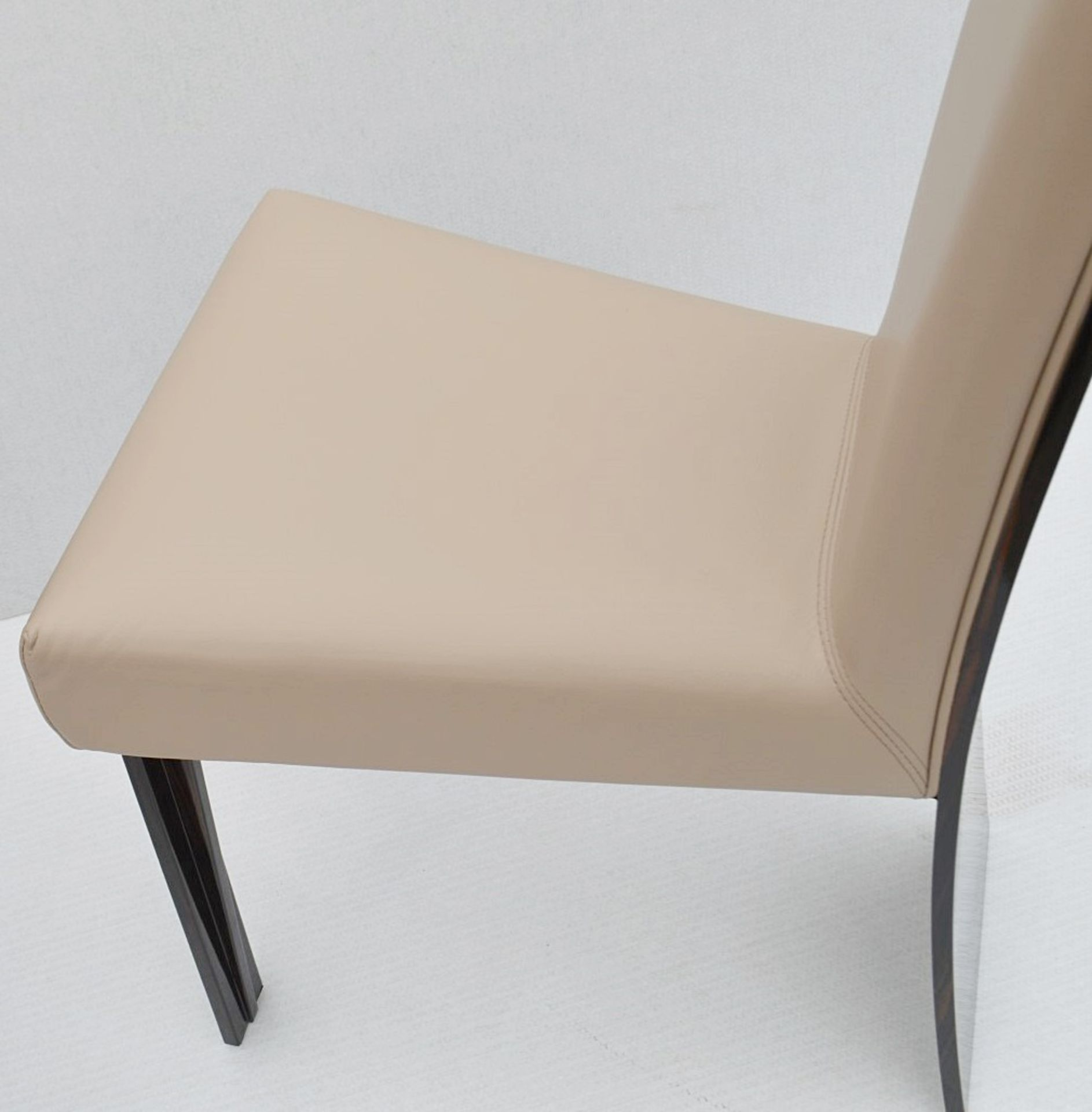 A Pair Of REFLEX 'New York-2' Designer Leather Upholstered High-back Chairs - Original RRP £2,578 - Image 3 of 8