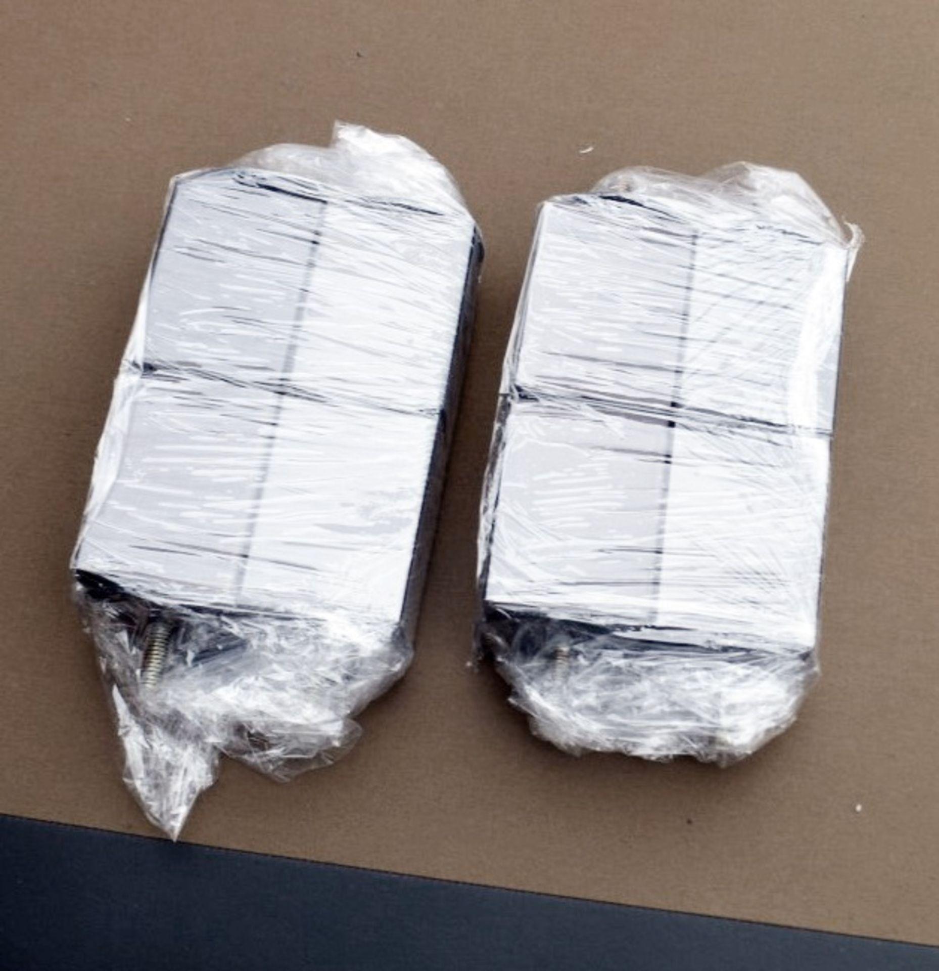 1 x COLUNEX 'Elite' Super Kingsize Divan Bed Base Upholstered In A Grey Leather - RRP £3,008 - Image 2 of 8