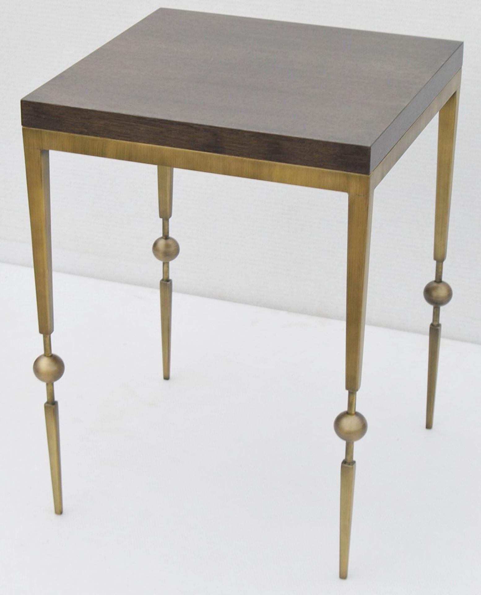 1 x JUSTIN VAN BREDA 'Sphere' Designer Occasional Table - Original RRP £1,200