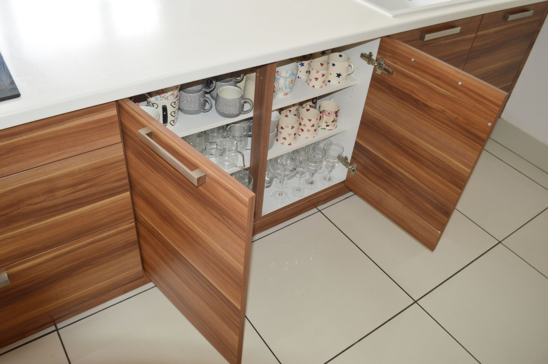 1 x Contemporary Bespoke Fitted Kitchen With Integrated Neff Branded Appliances, Quartz Worktops - Image 12 of 52