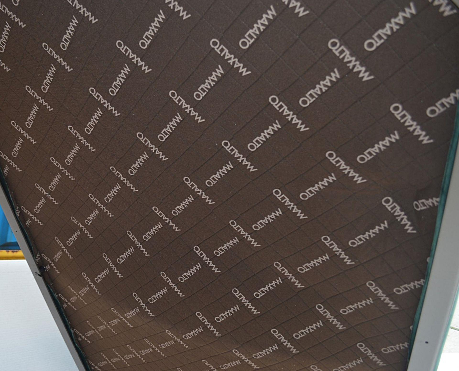2 x B&B Italia MAXALTO Luxury Sofa Sections Both Upholstered In Rich Dark Green Velvet - RRP £7,248 - Image 9 of 13