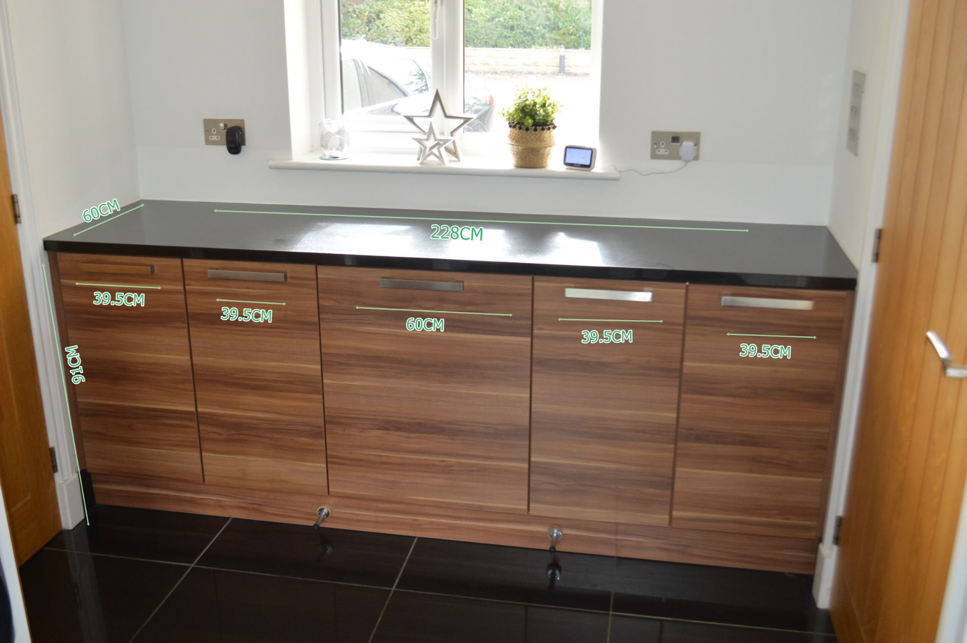 1 x Contemporary Bespoke Fitted Kitchen With Integrated Neff Branded Appliances, Quartz Worktops - Image 34 of 52