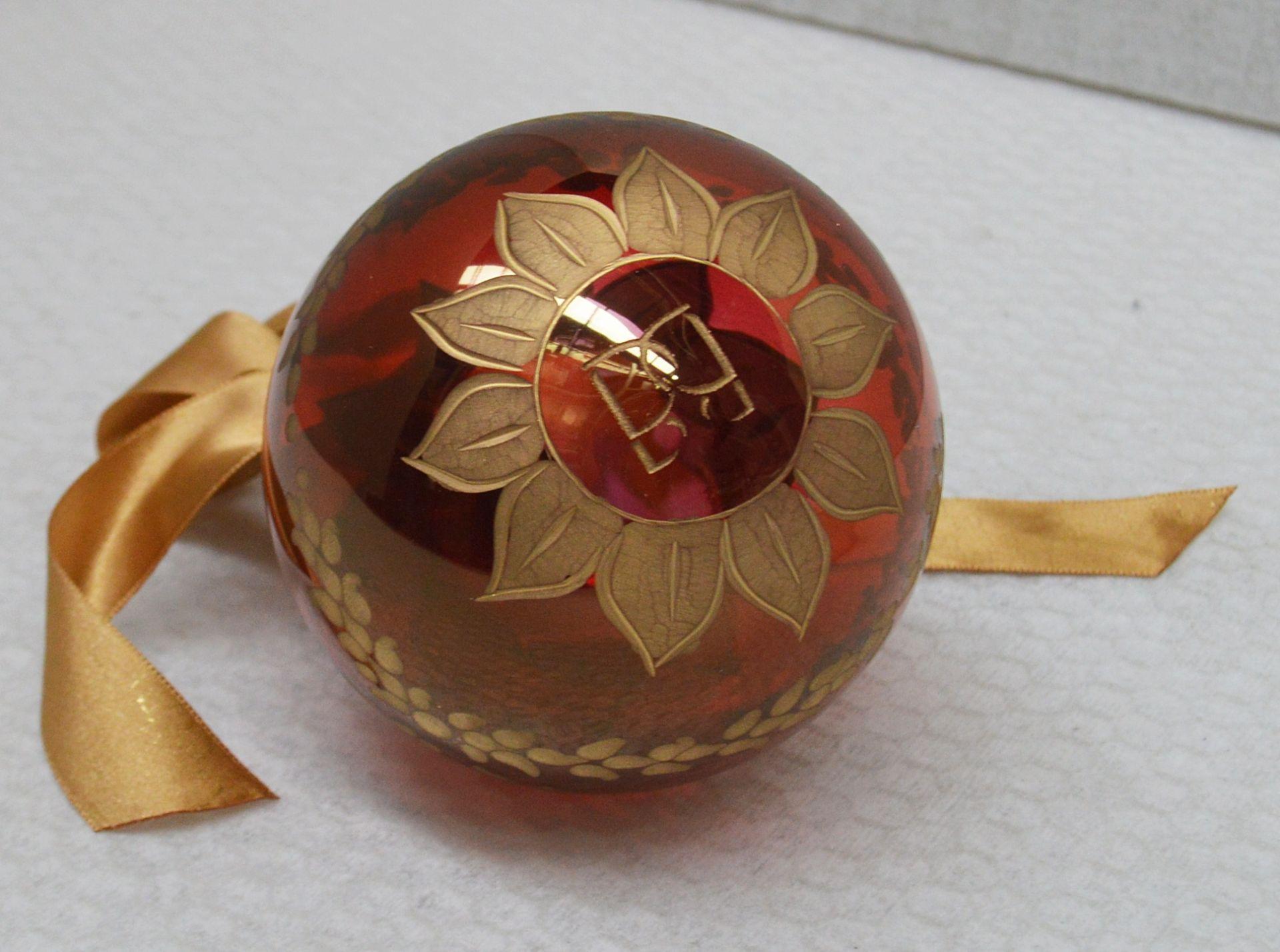 1 x BALDI 'Home Jewels' Italian Hand-crafted Artisan Christmas Tree Decoration Original RRP £114.00 - Image 3 of 5