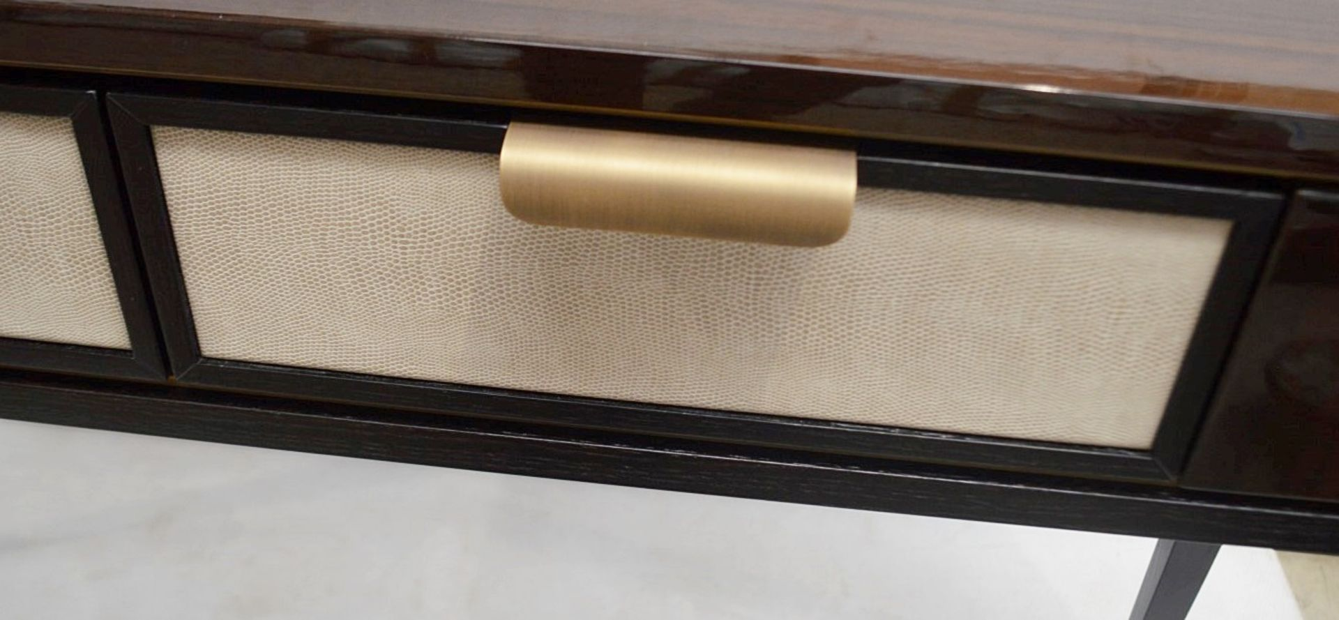 1 x FRATO 'Mandalay' Luxury Designer 2-Drawer Dresser Dressing Table In A Gloss Finish - RRP £4,300 - Image 16 of 17