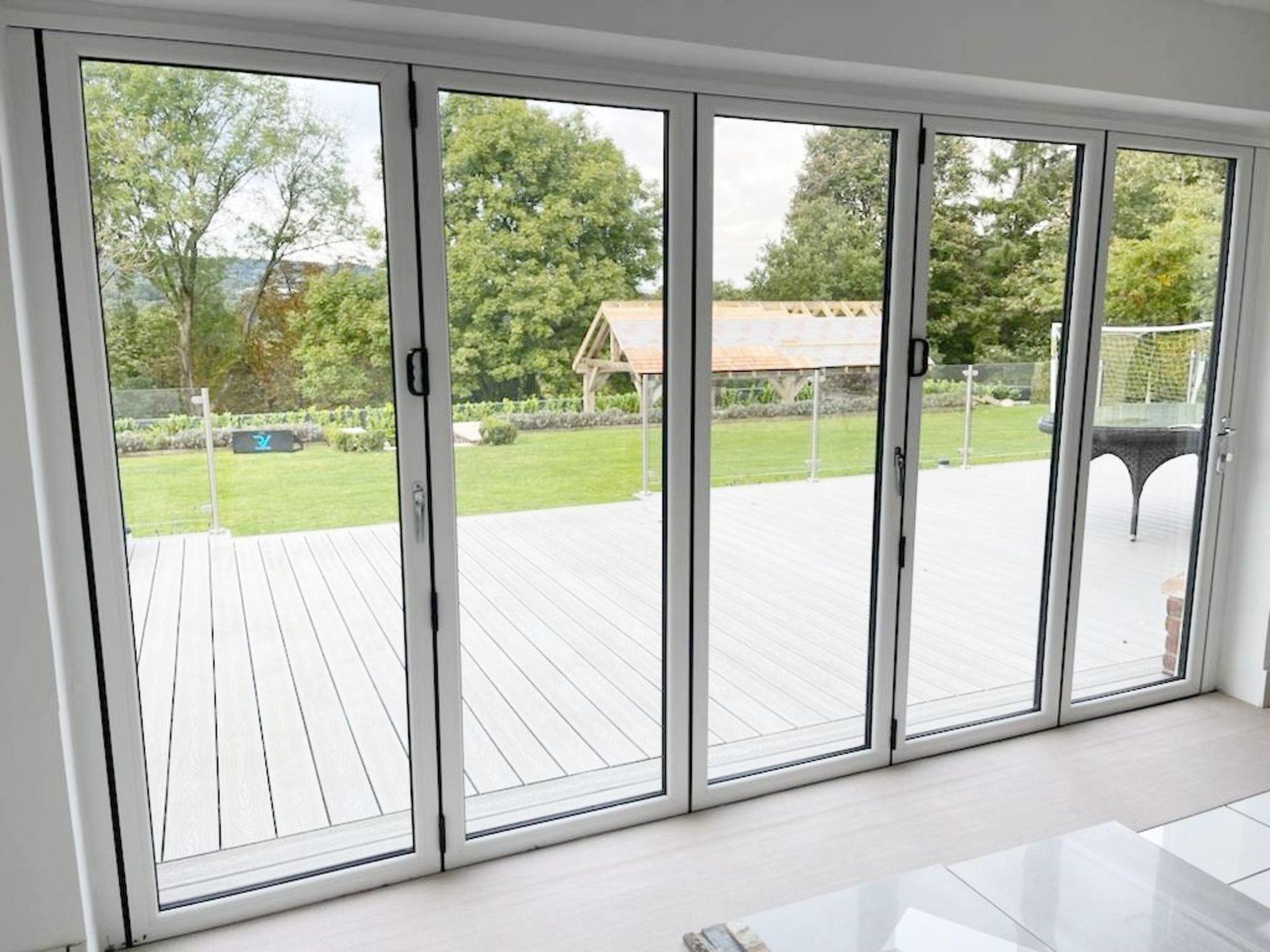1 x Slide And Fold Bi Fold Doors Including Frames - CL685 - Location: Blackburn BB6 - NO VAT On - Image 7 of 7
