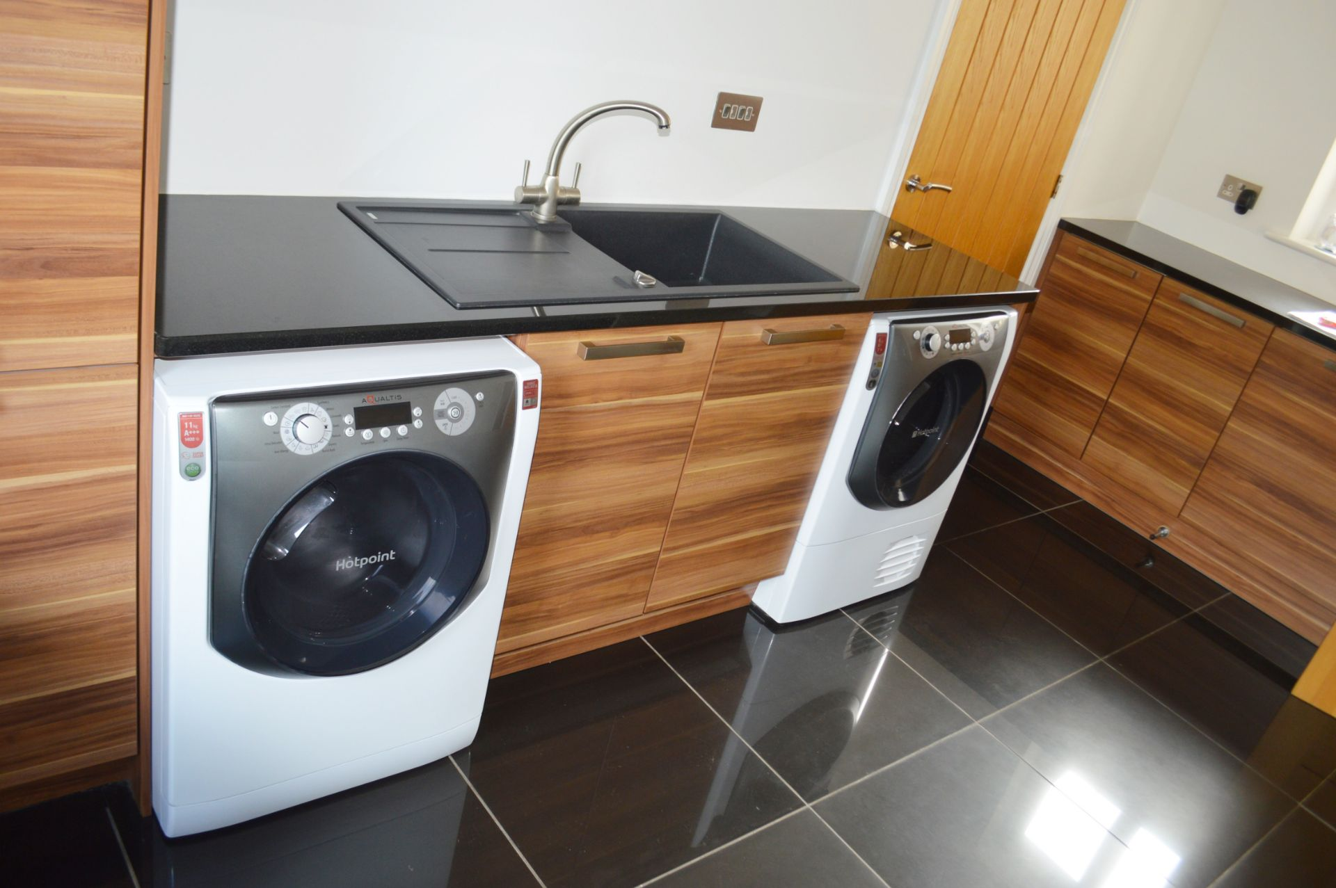 1 x Contemporary Bespoke Fitted Kitchen With Integrated Neff Branded Appliances, Quartz Worktops - Image 8 of 52