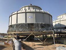 CTS Cooling Tower. FRP Construction. 2824 GPM