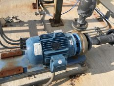 2 x 3-7 Goulds Centrifugal pump. Mdl 3657