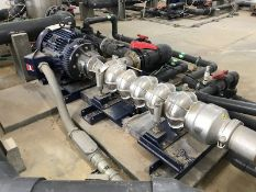 710 gpm, 222 psi Fedco high pressure feed pump, Duplex 2205 stainless multistage pump